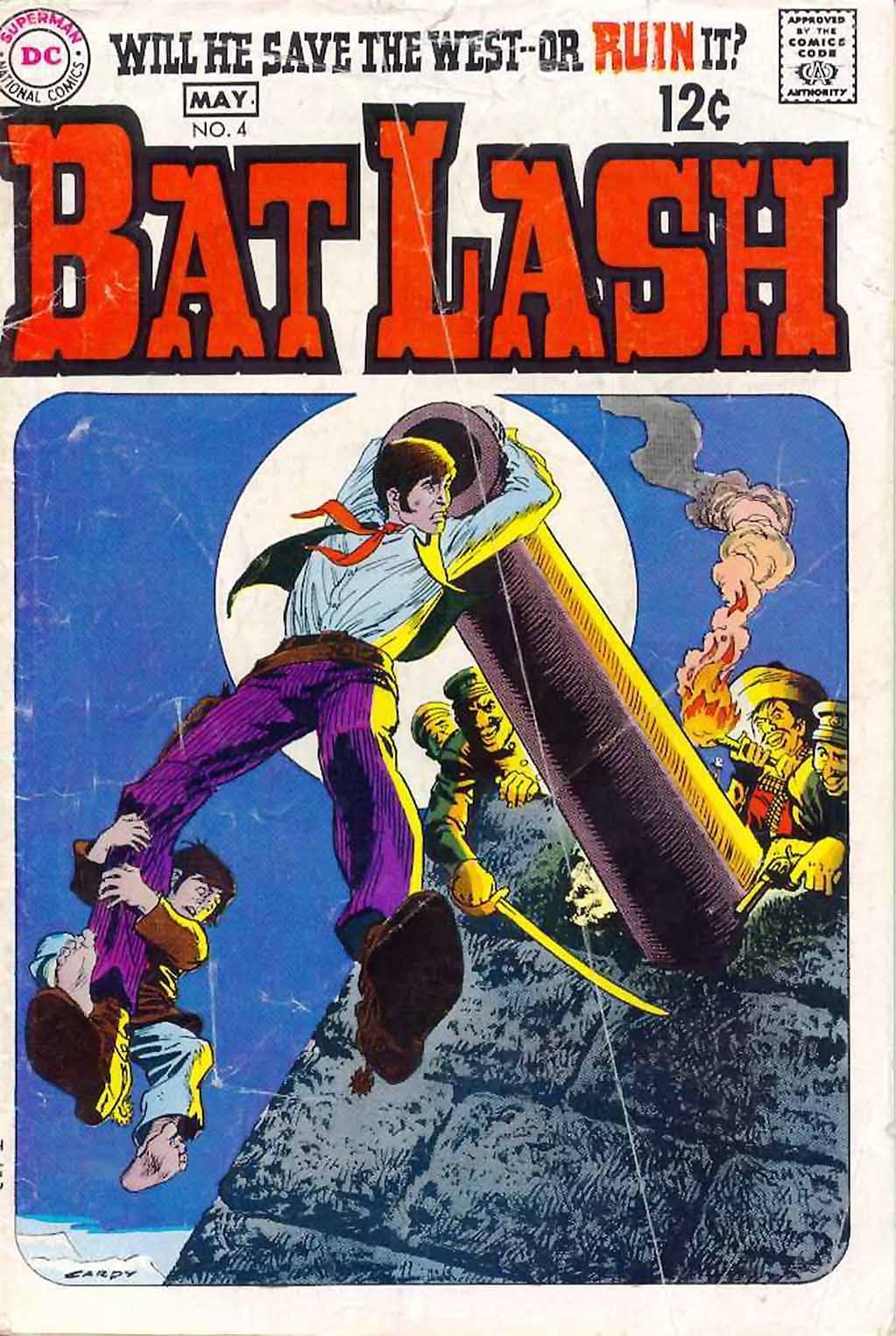 Bat Lash (1968) issue 4 - Page 1