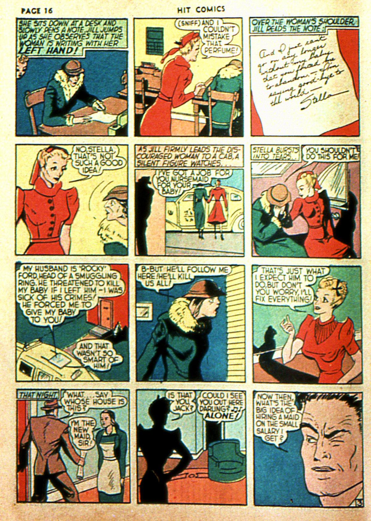 Read online Hit Comics comic -  Issue #2 - 18