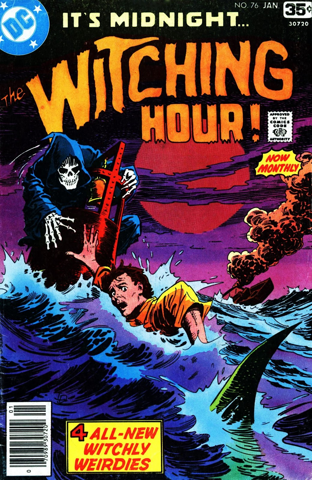 The Witching Hour (1969) issue 76 - Page 1
