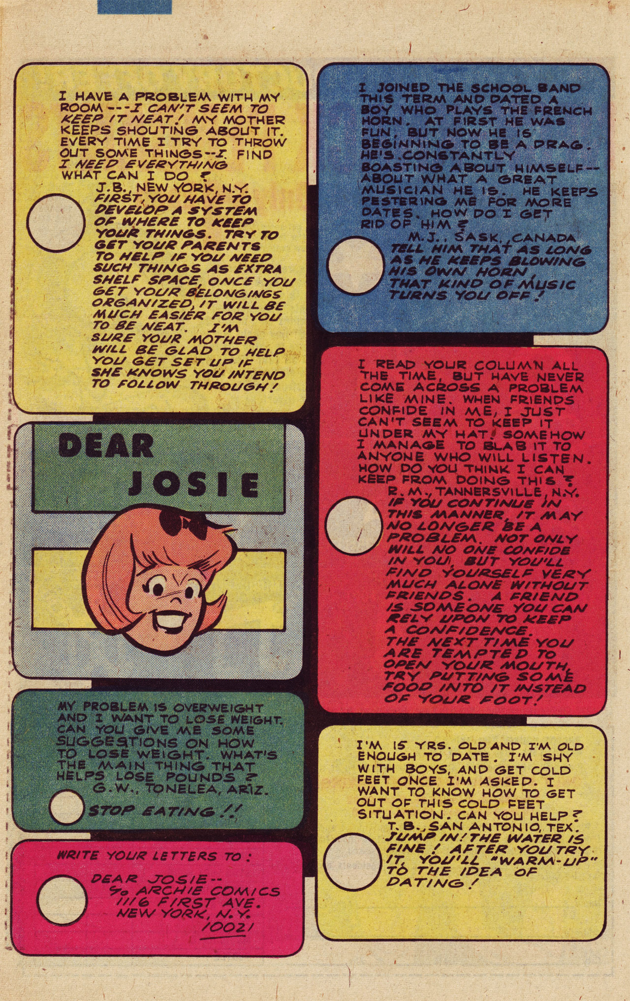 Read online She's Josie comic -  Issue #102 - 25