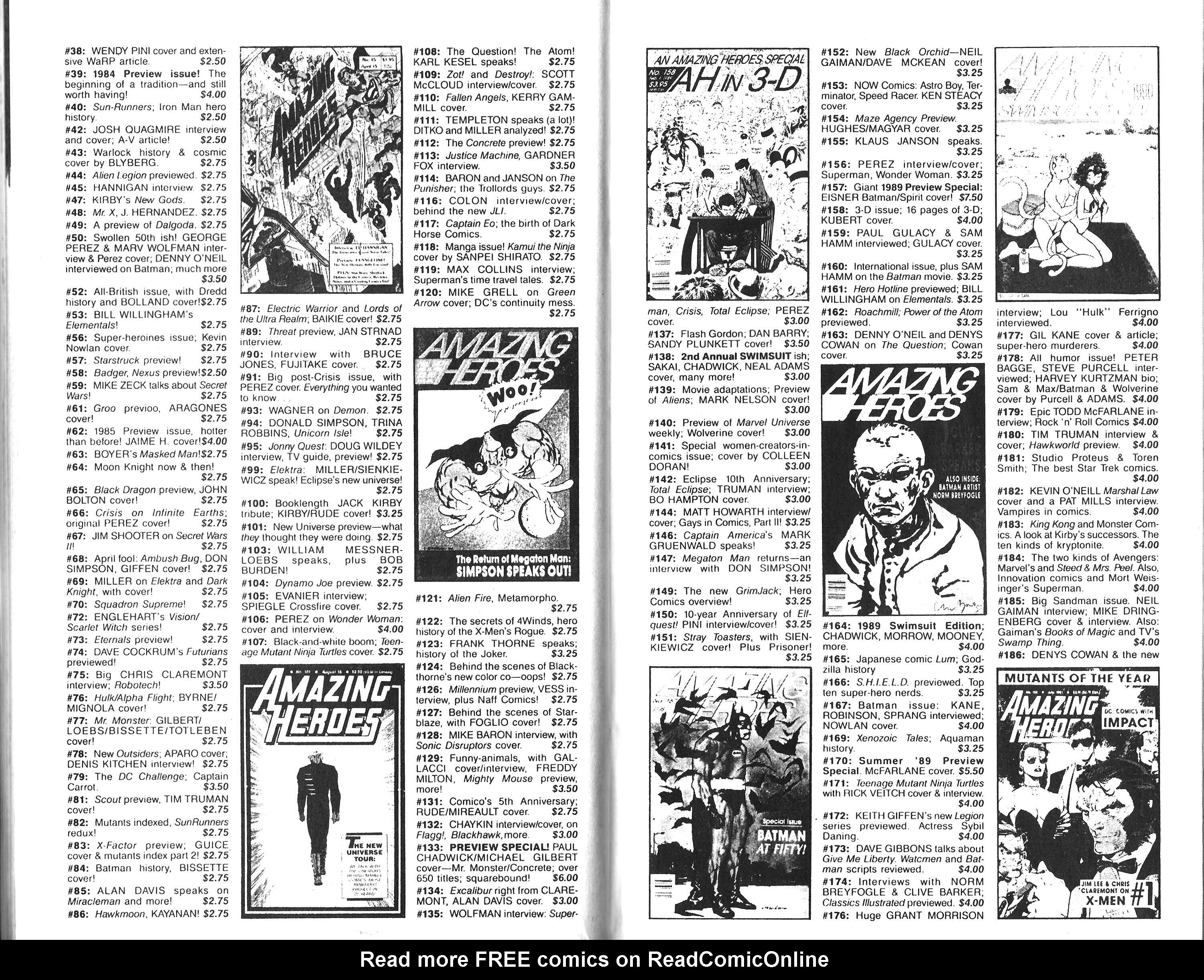 Read online Amazing Heroes comic -  Issue #204 - 36