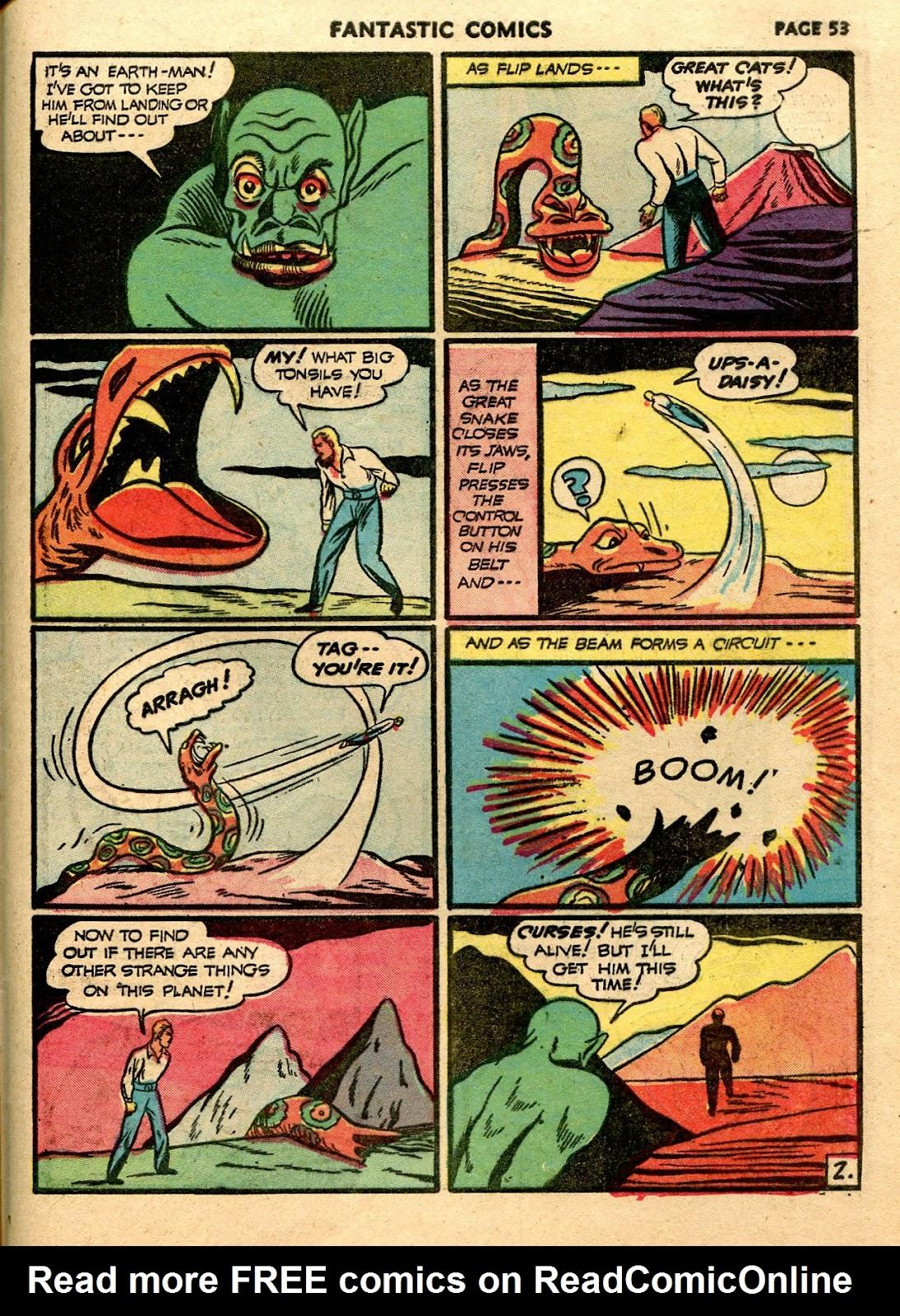 Read online Fantastic Comics comic -  Issue #21 - 51
