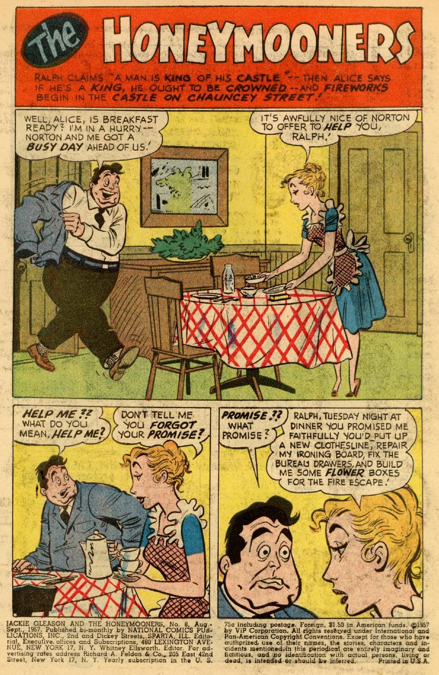 Jackie Gleason and the Honeymooners issue 8 - Page 3