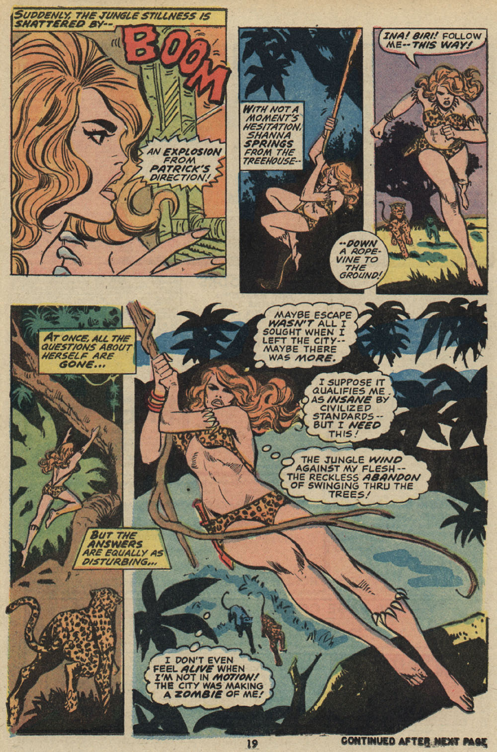 Read online Shanna, the She-Devil (1972) comic -  Issue #5 - 15