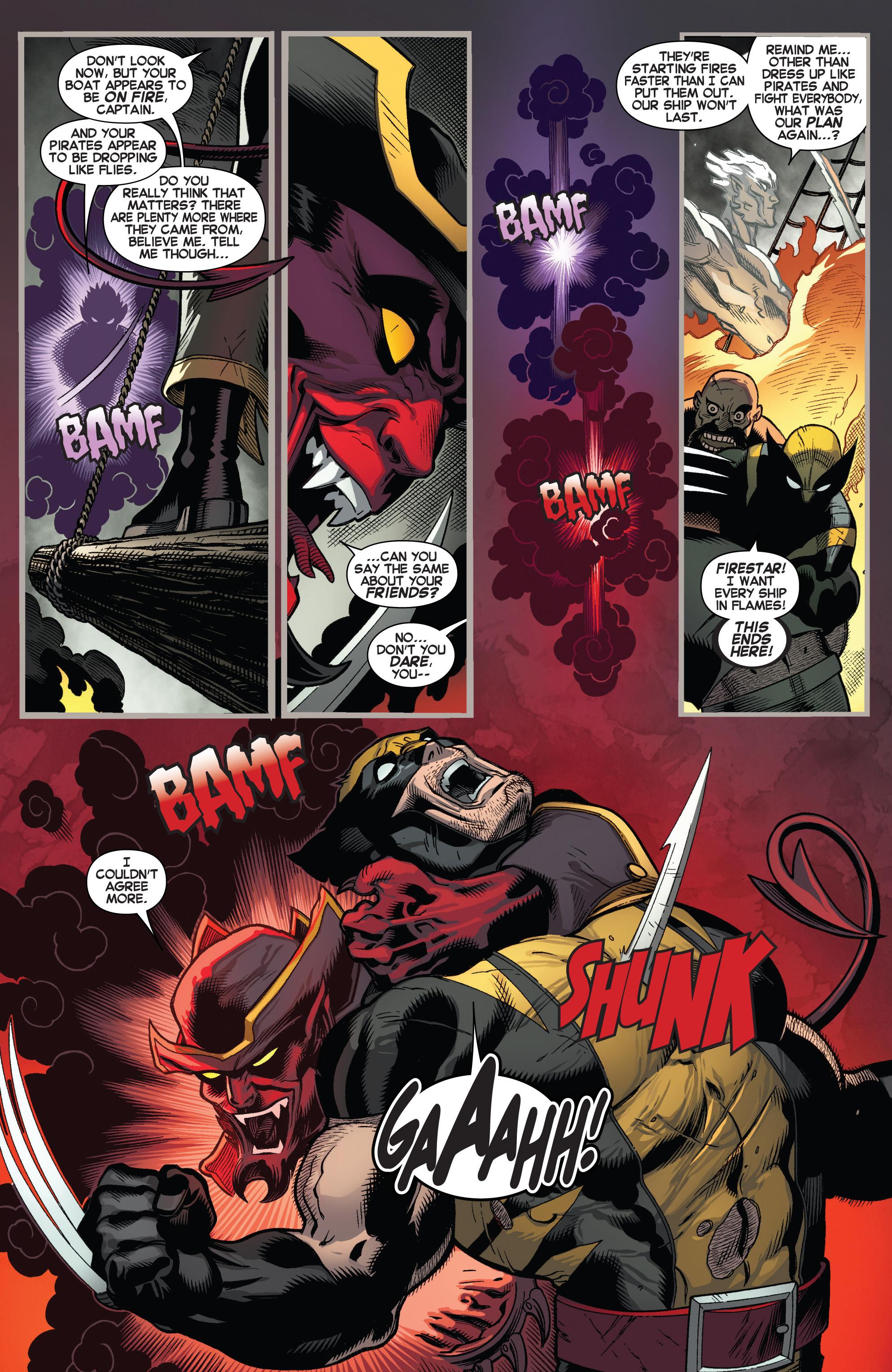 Read online Amazing X-Men (2014) comic -  Issue #5 - 10