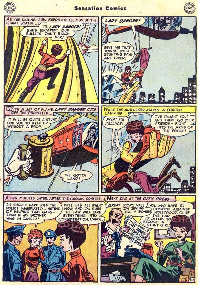 Read online Sensation (Mystery) Comics comic -  Issue #89 - 50