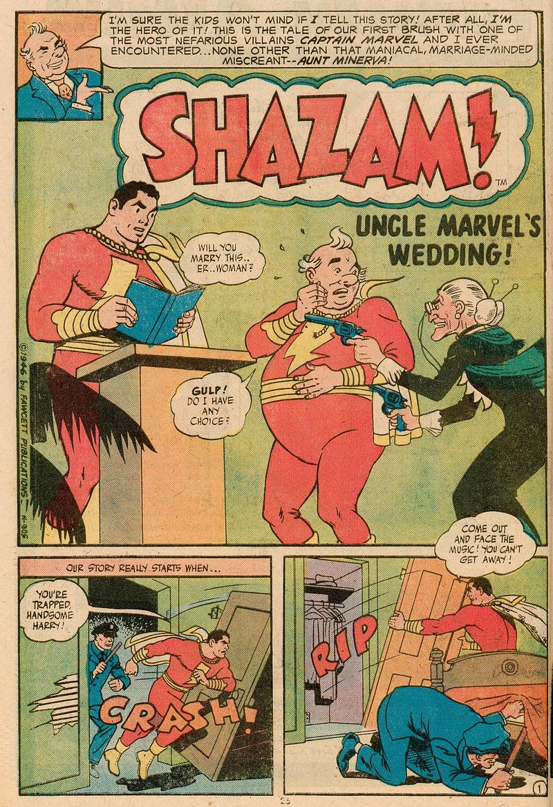 Read online Shazam! (1973) comic -  Issue #12 - 23