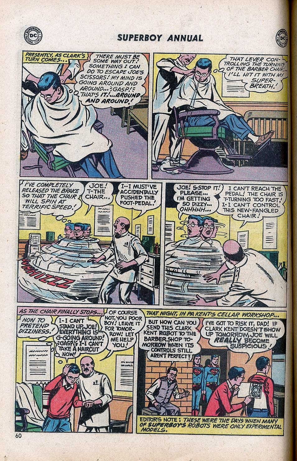 Superboy (1949) issue Annual 1 - Page 62
