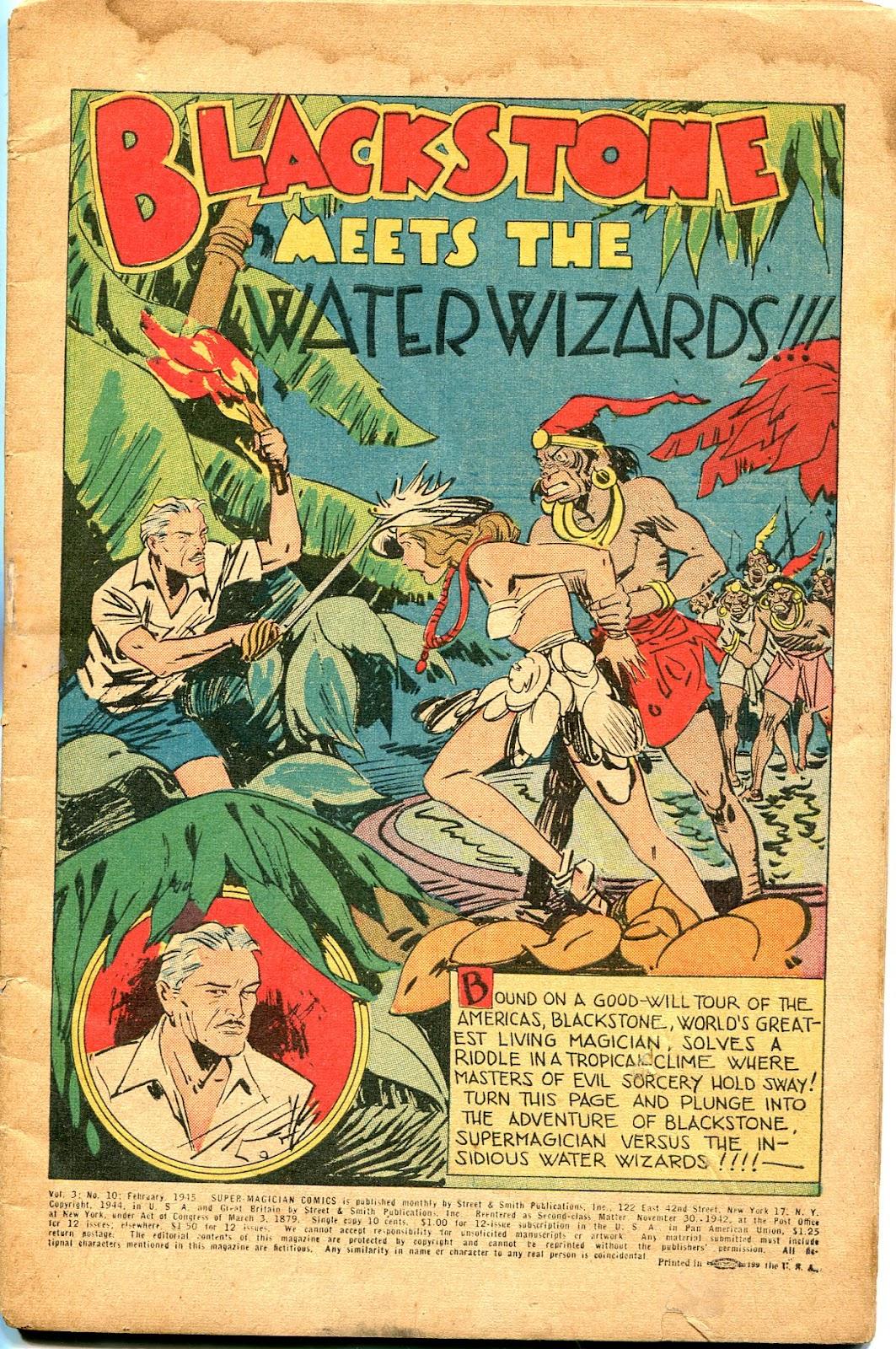 Read online Super-Magician Comics comic -  Issue #34 - 3