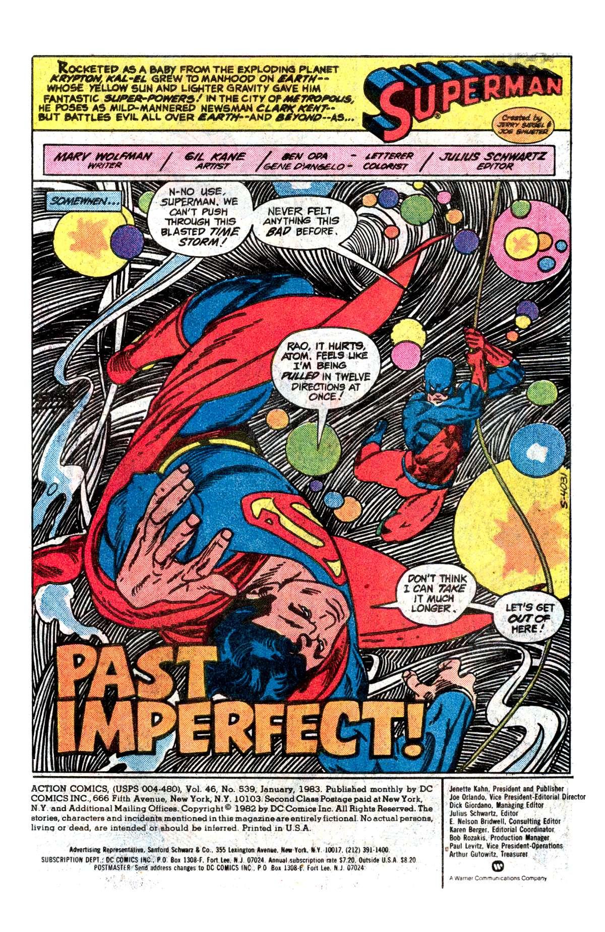 Action Comics (1938) 539 Page 1