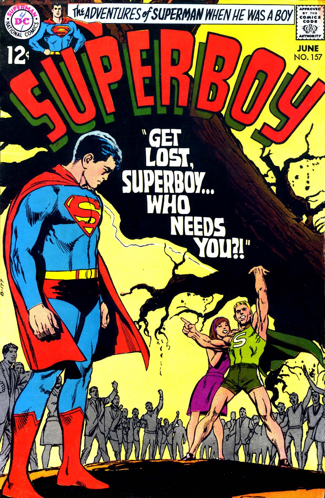 Superboy (1949) issue 157 - Page 1