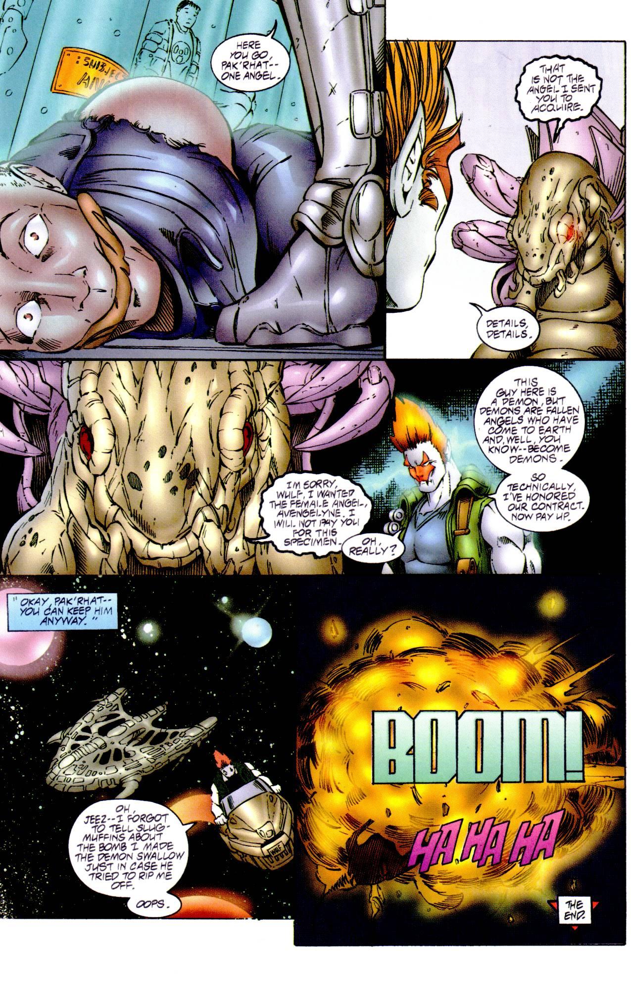 Read online Avengelyne (1996) comic -  Issue #14 - 19