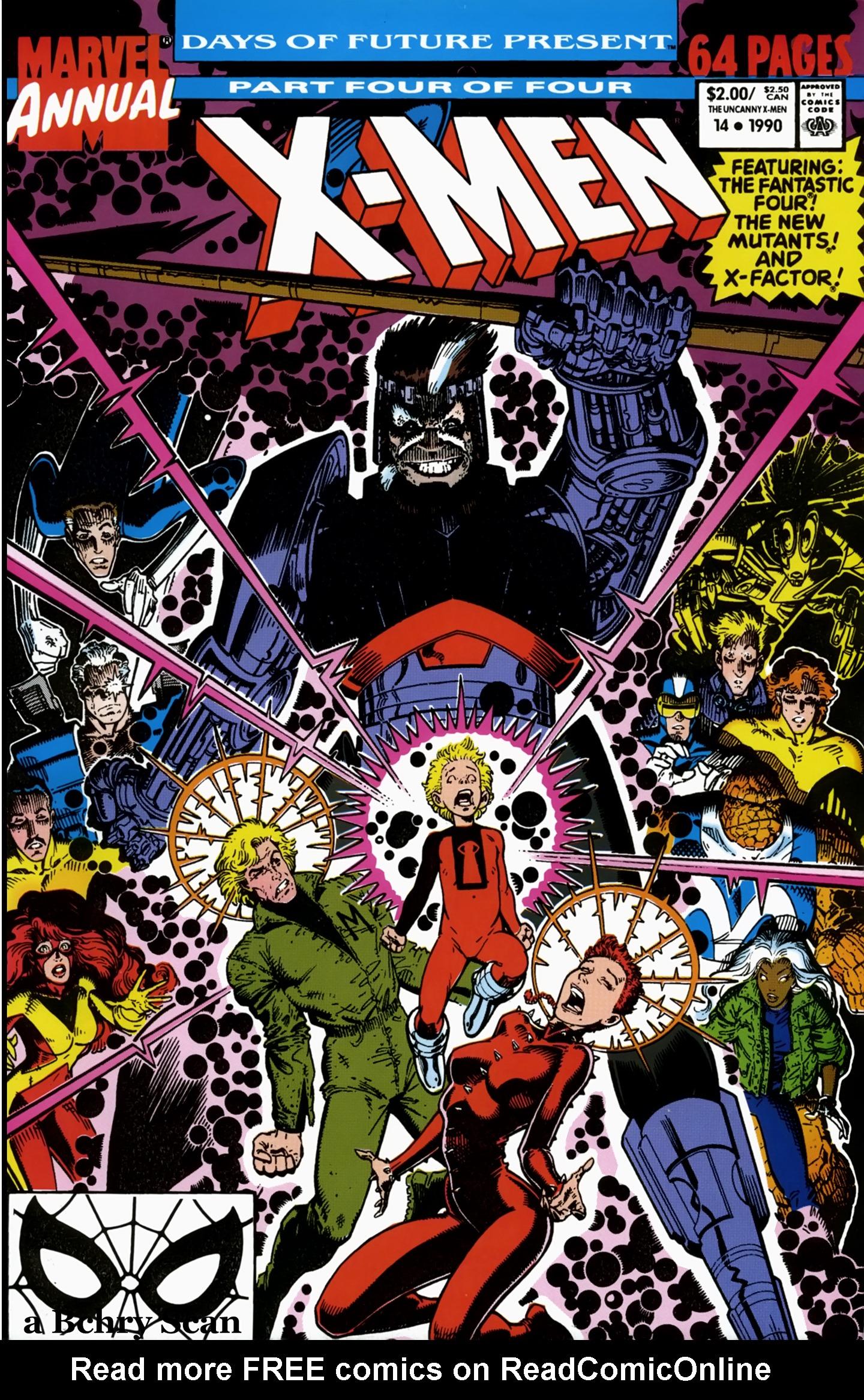Uncanny X-Men (1963) _Annual_14 Page 1