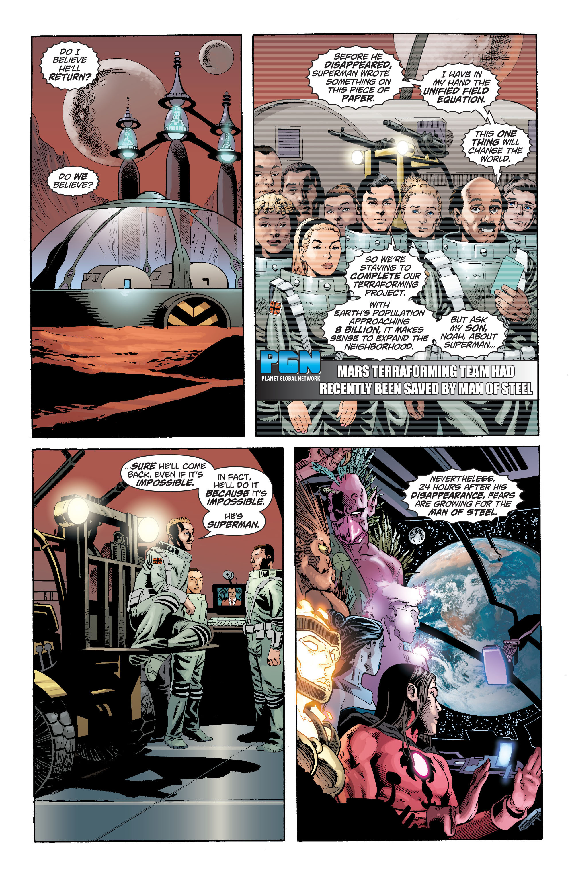 Read online Action Comics (2011) comic -  Issue #18 - 31