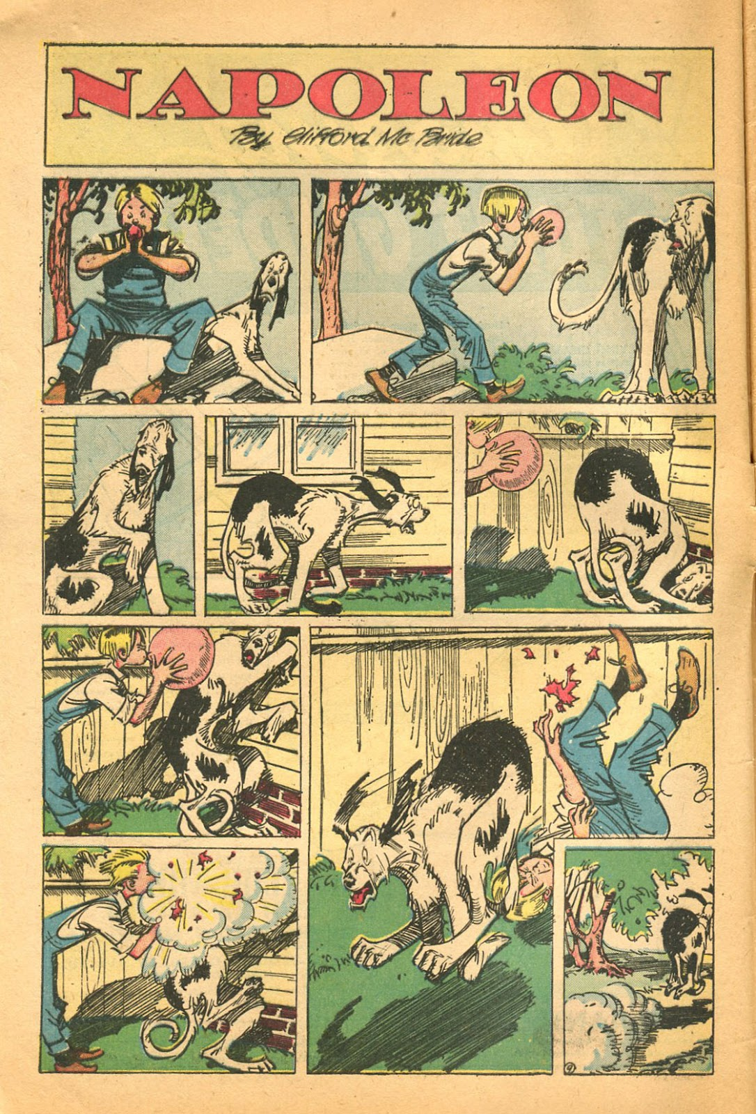 Read online Famous Funnies comic -  Issue #119 - 4
