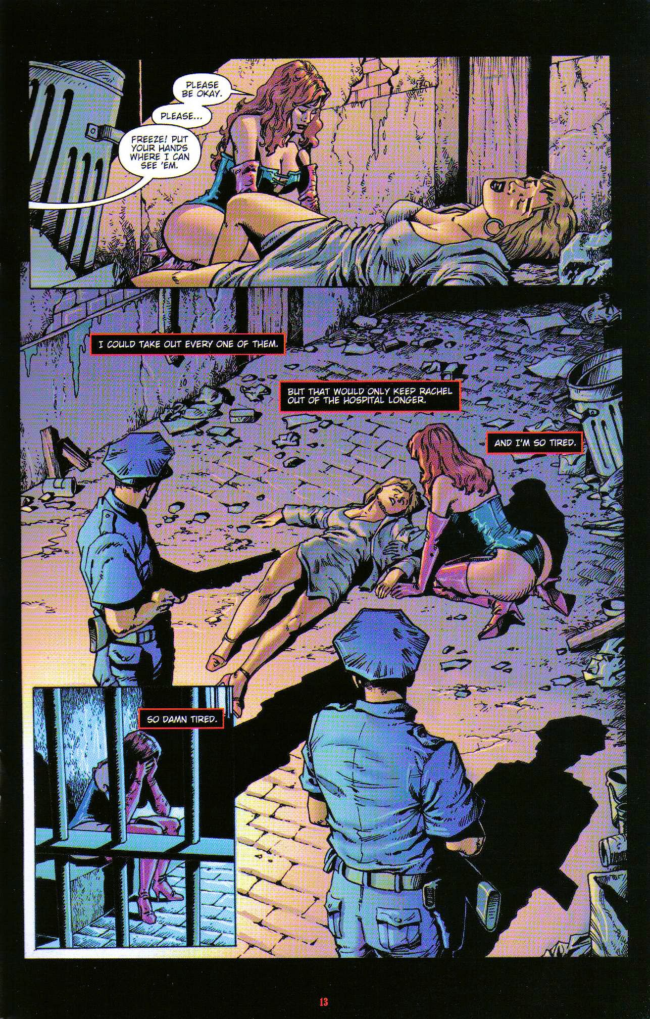 Read online Dominatrix comic -  Issue #6 - 15