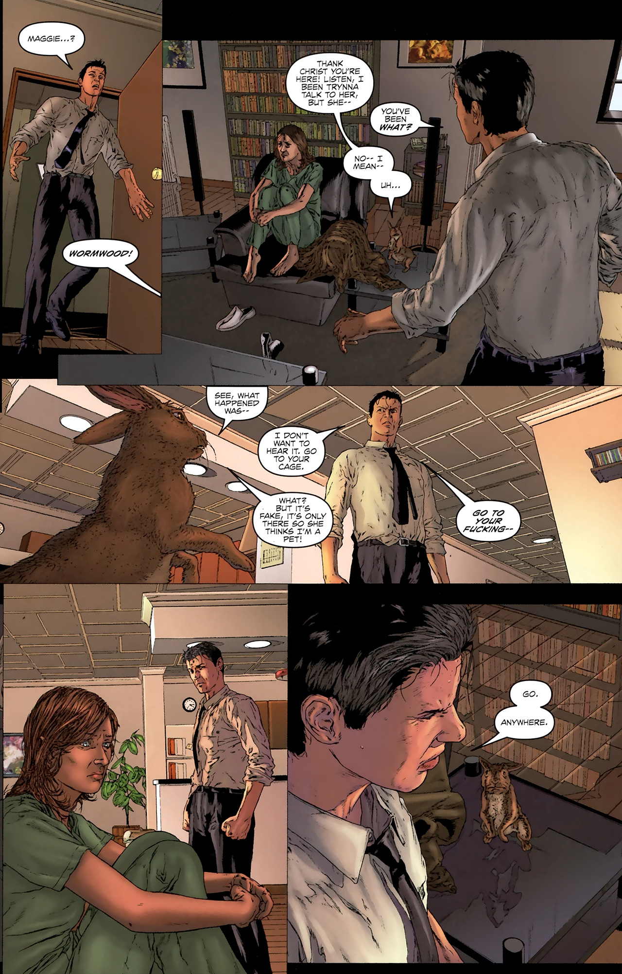 Read online Chronicles of Wormwood: The Last Battle comic -  Issue #3 - 16
