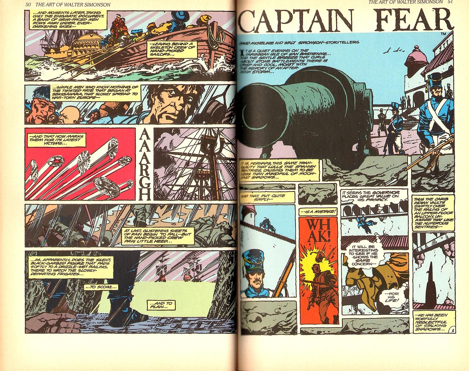 Read online The Art of Walter Simonson comic -  Issue # TPB - 27