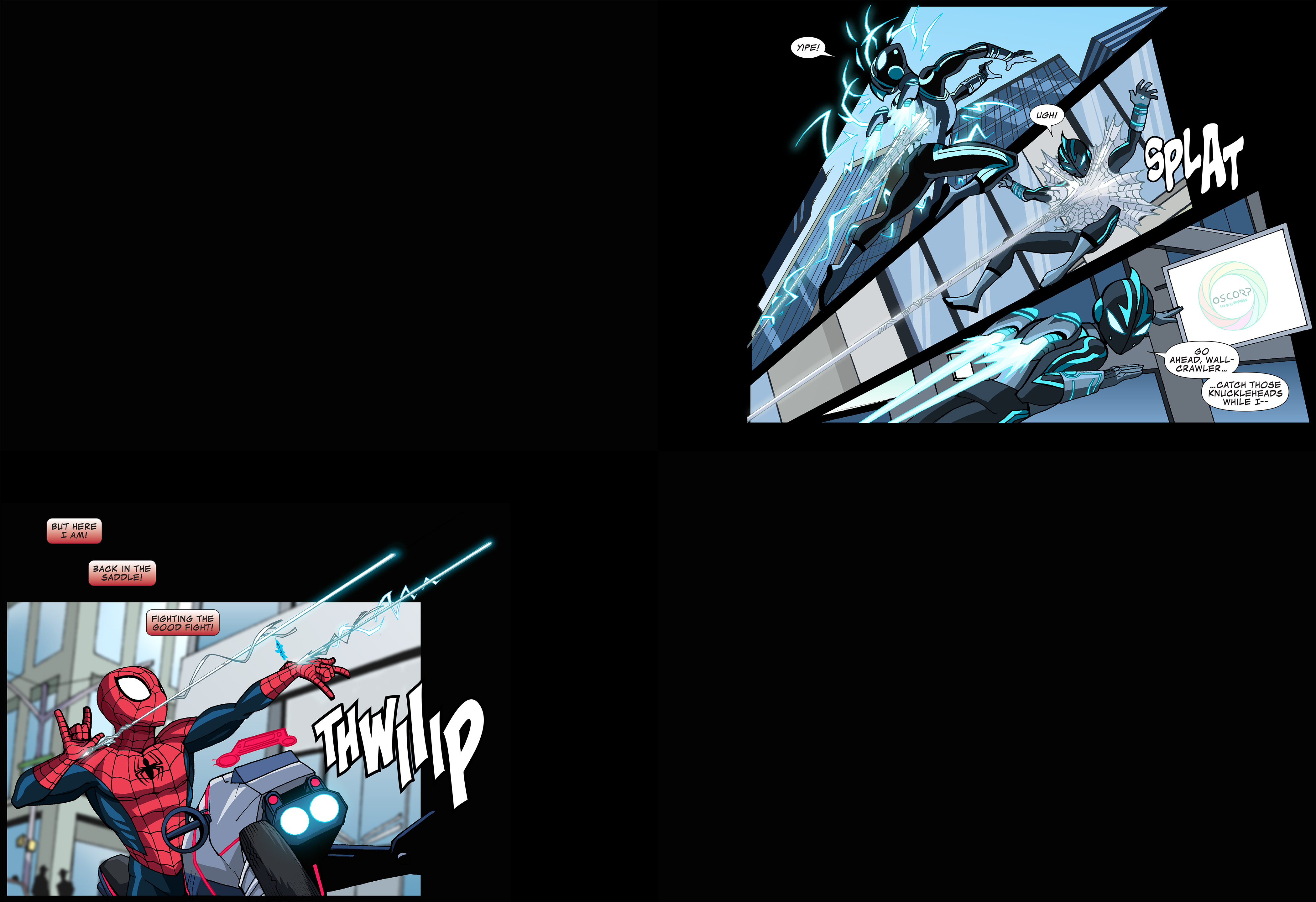Read online Ultimate Spider-Man (Infinite Comics) (2015) comic -  Issue #12 - 20