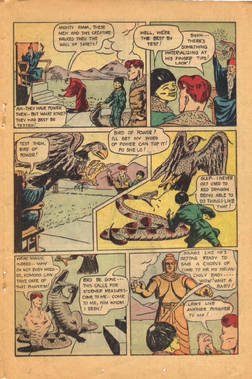 Read online Super-Magician Comics comic -  Issue #52 - 28