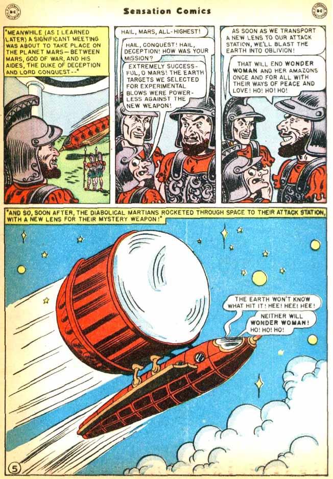 Read online Sensation (Mystery) Comics comic -  Issue #92 - 7