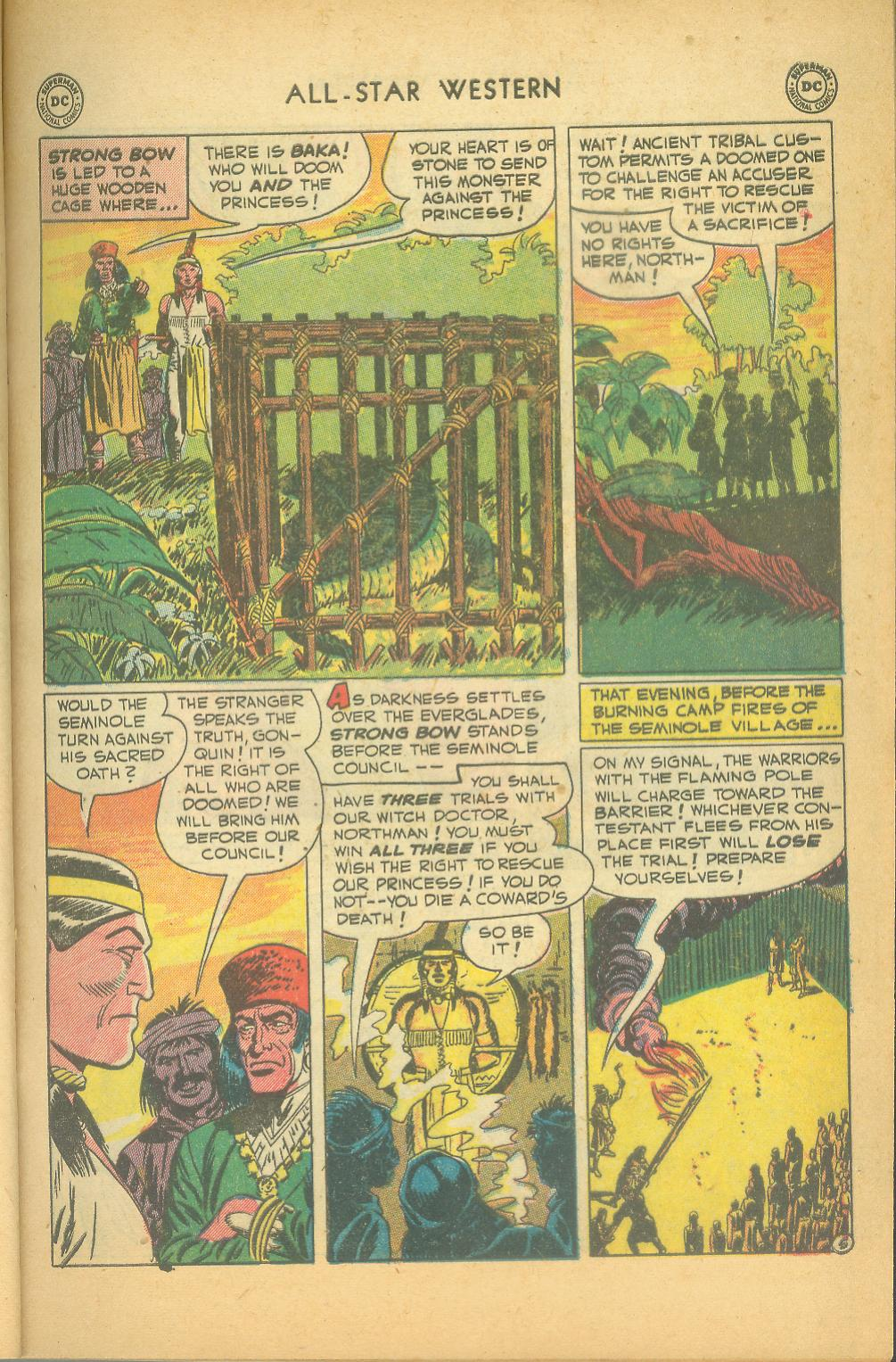 Read online All-Star Western (1951) comic -  Issue #61 - 7