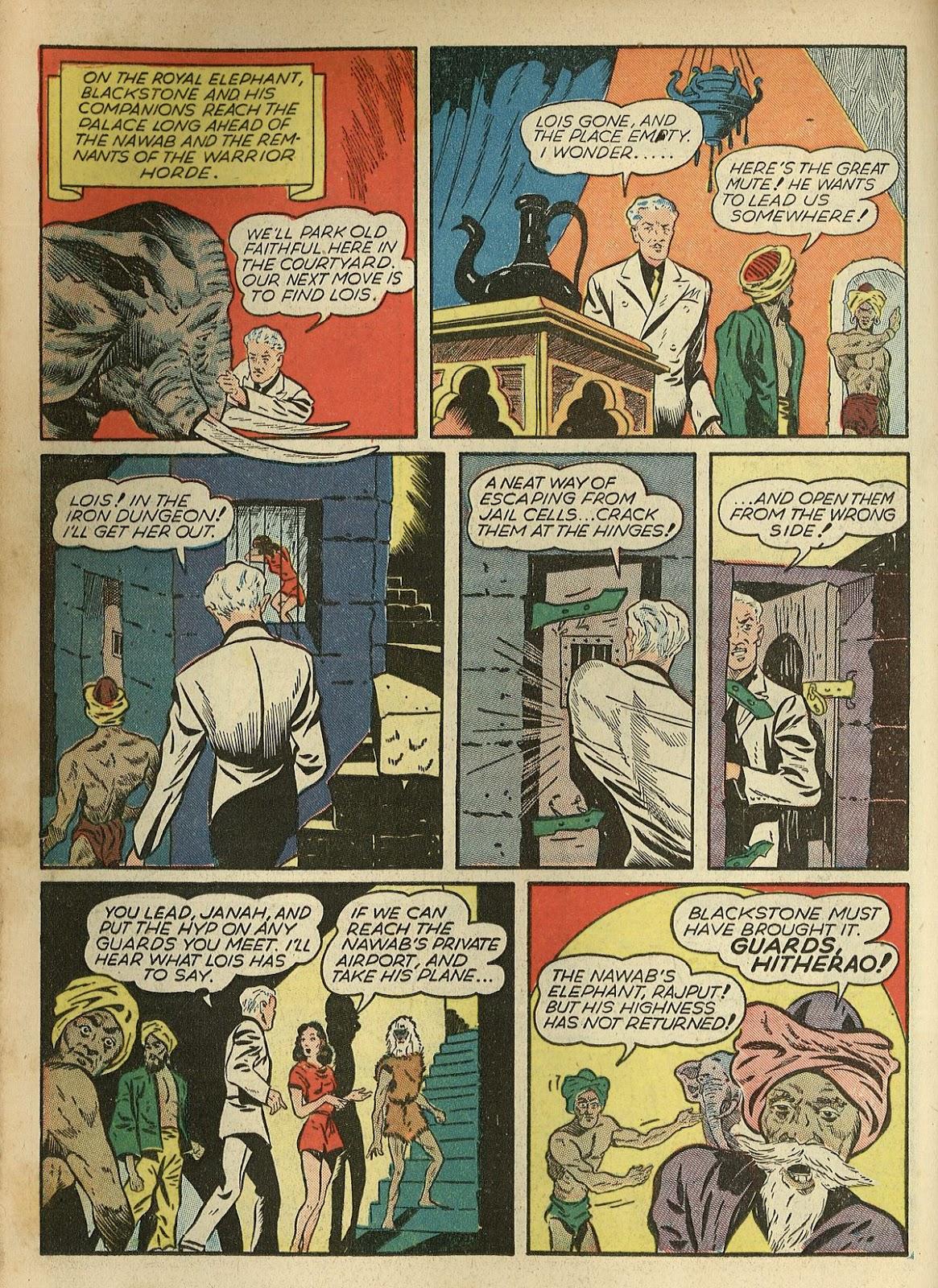 Read online Super-Magician Comics comic -  Issue #1 - 32
