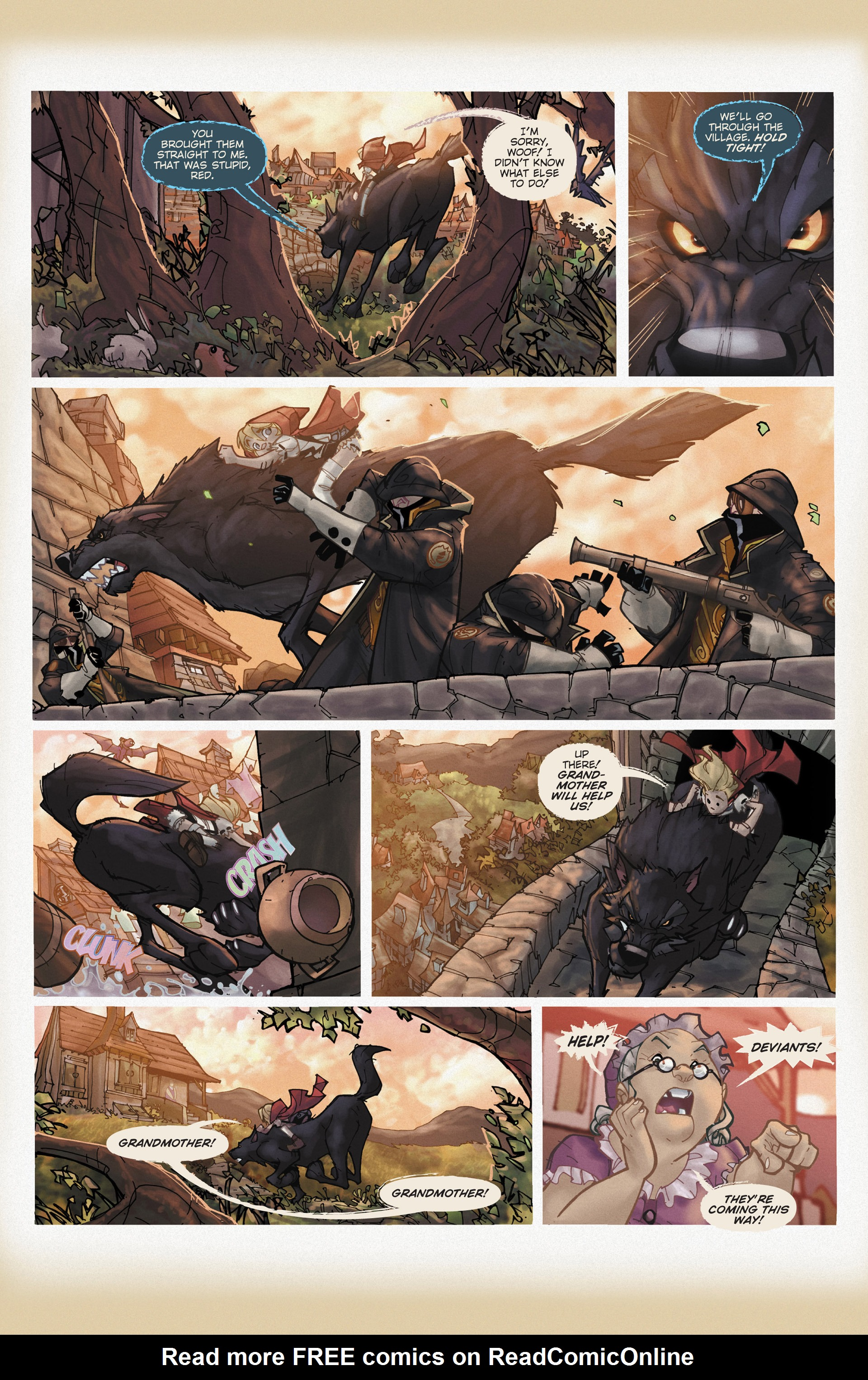 Read online Fairy Quest: Outlaws comic -  Issue #1 - 20