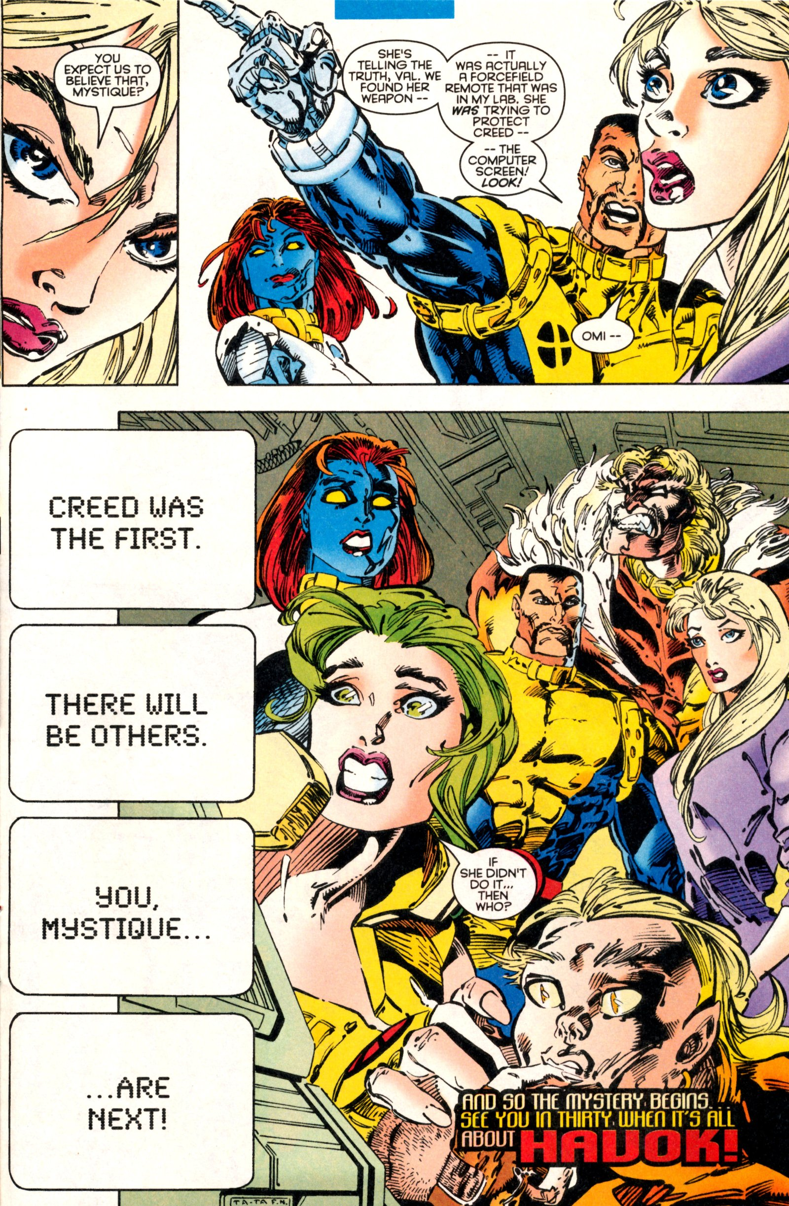 Read online X-Factor (1986) comic -  Issue #130 - 31