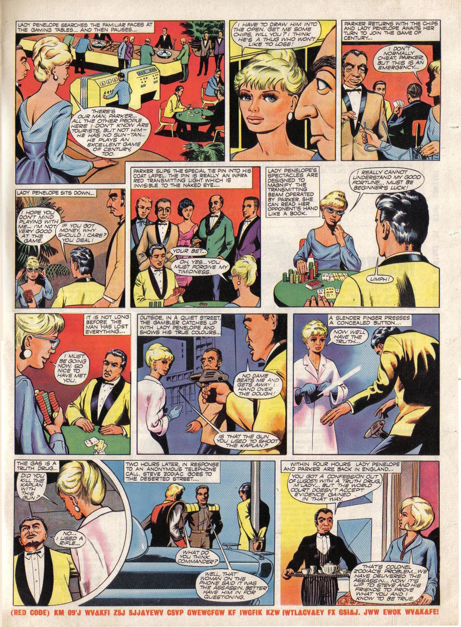 Read online TV Century 21 (TV 21) comic -  Issue #19 - 16
