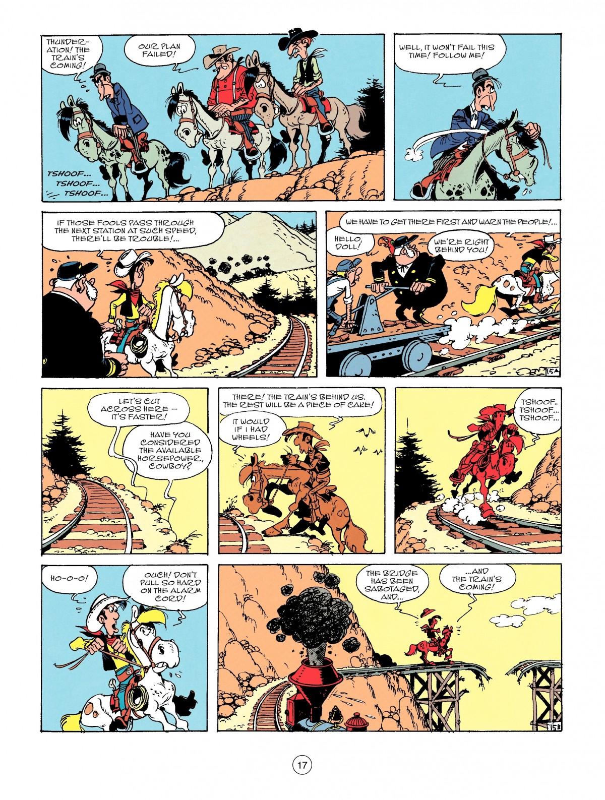 Read online A Lucky Luke Adventure comic -  Issue #53 - 17