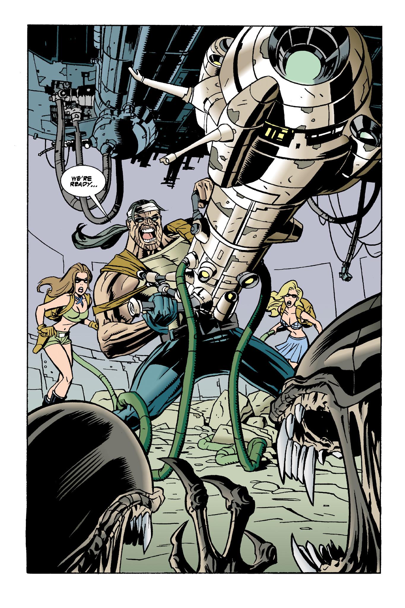 Read online Aliens: Mondo Heat comic -  Issue # Full - 10