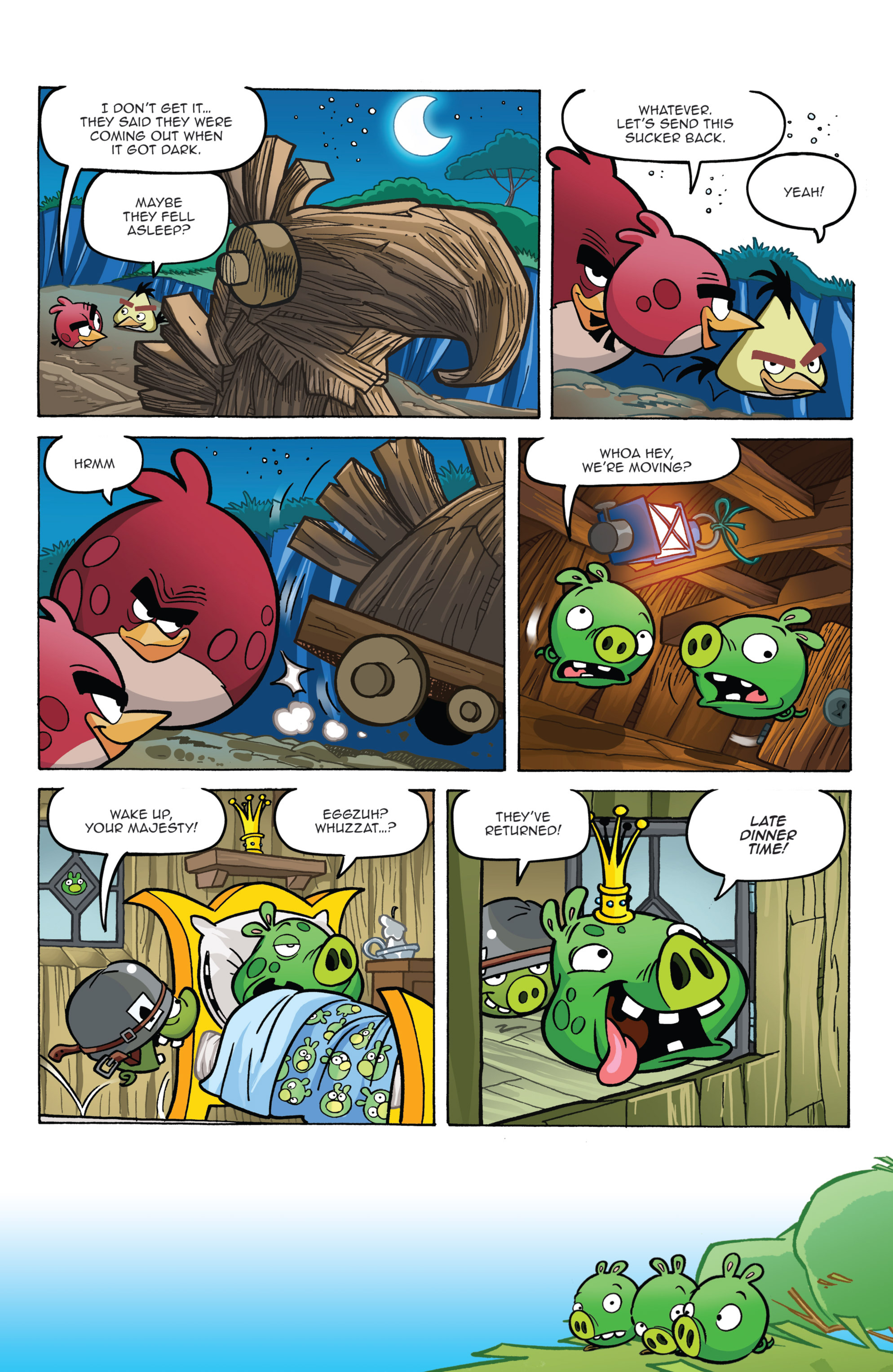 Read online Angry Birds Comics (2014) comic -  Issue #2 - 13