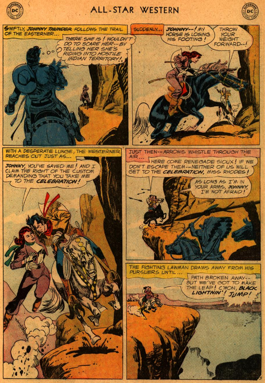Read online All-Star Western (1951) comic -  Issue #107 - 5