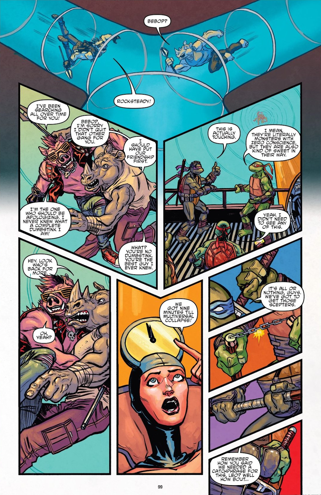 Read online Teenage Mutant Ninja Turtles: The IDW Collection comic -  Issue # TPB 8 (Part 1) - 98