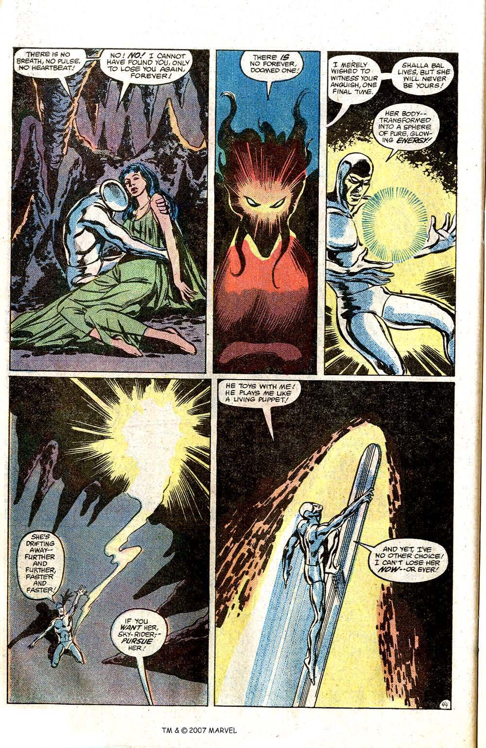 Read online Silver Surfer (1982) comic -  Issue # Full - 46