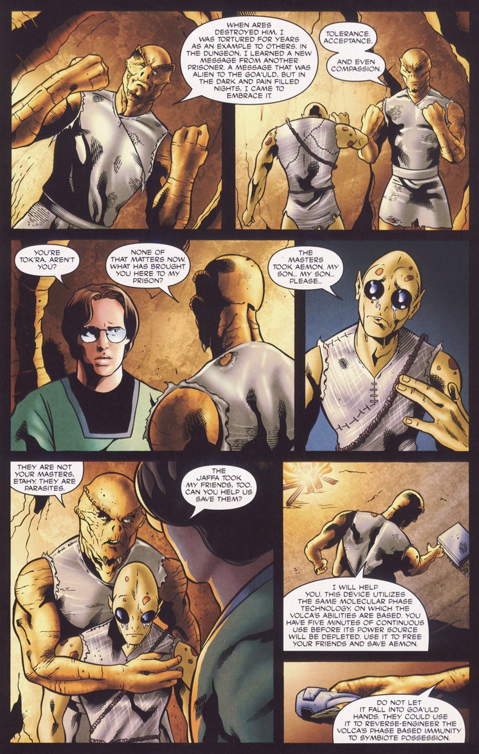Read online Stargate SG-1: Fall of Rome comic -  Issue #3 - 13