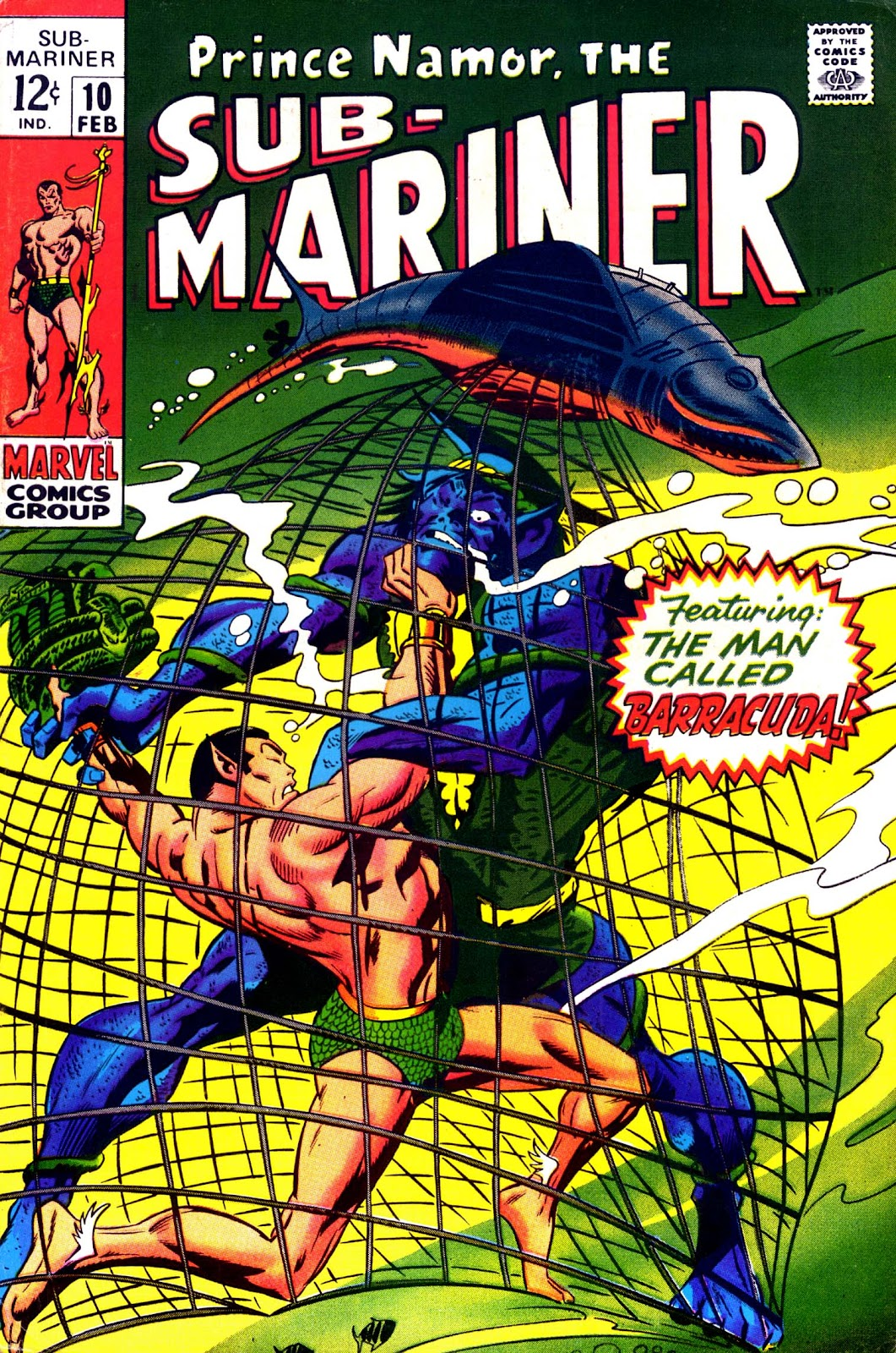 The Sub-Mariner 10 Page 1