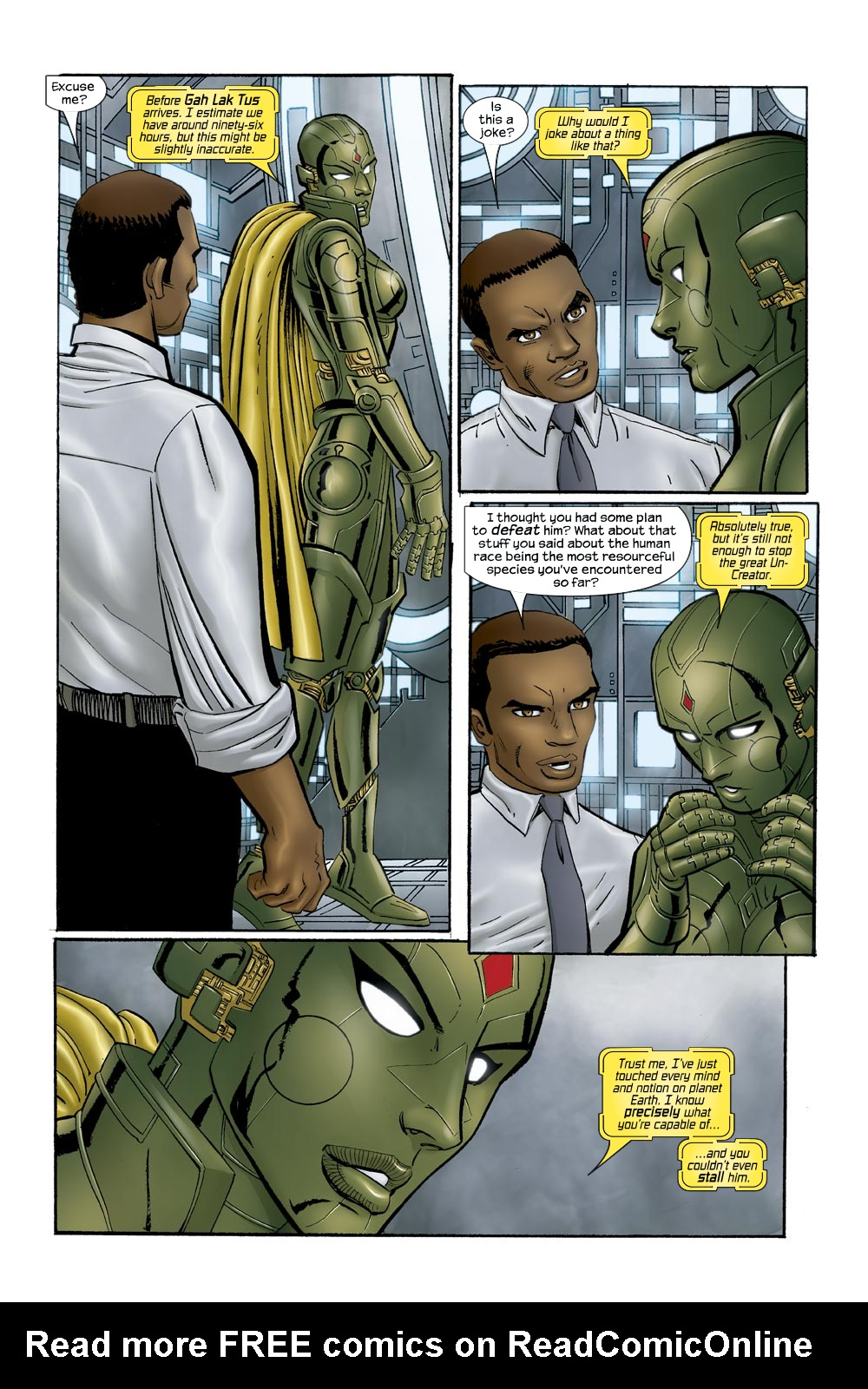 Read online Ultimate Vision comic -  Issue #0 - 24