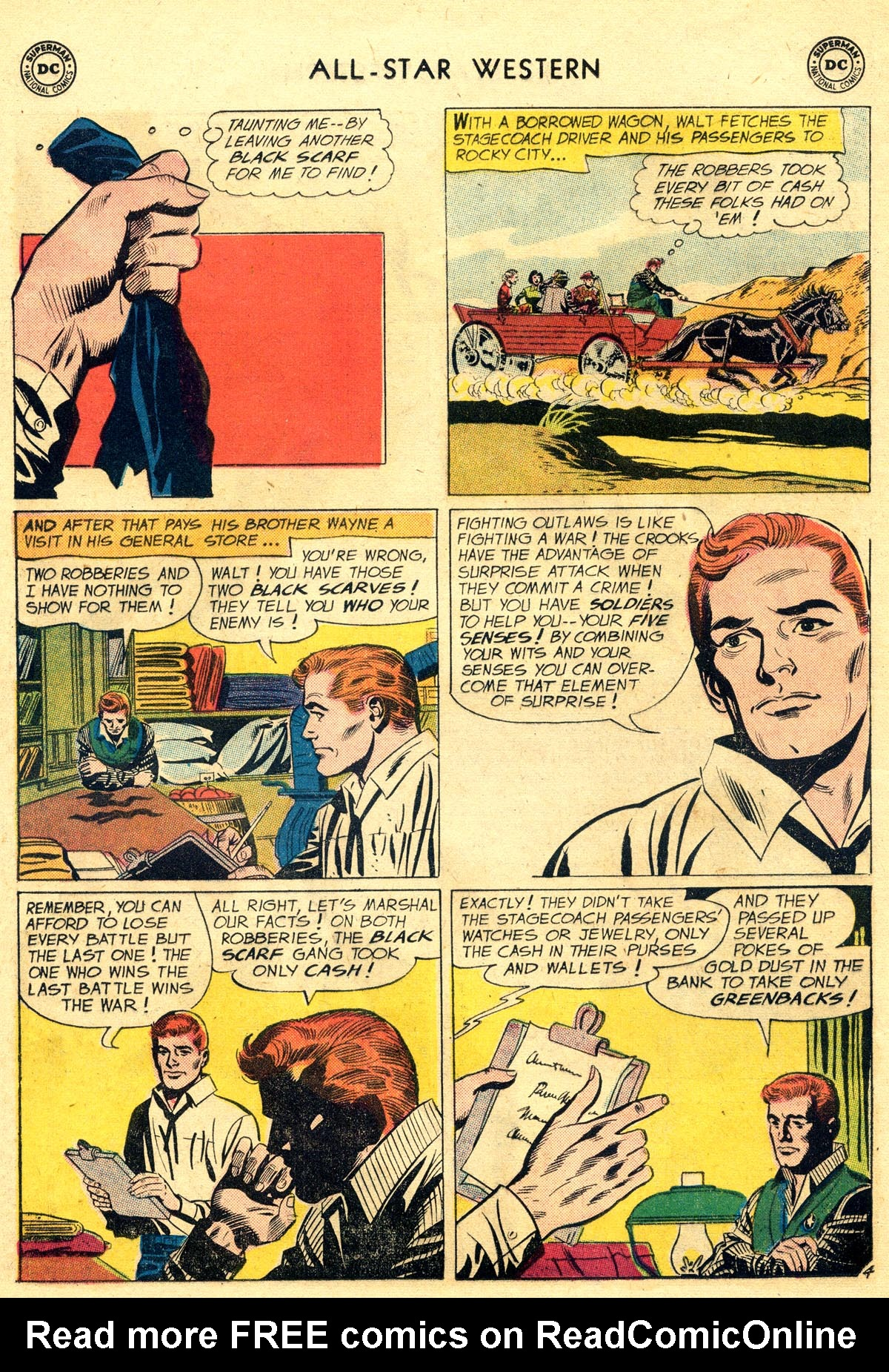 Read online All-Star Western (1951) comic -  Issue #109 - 28