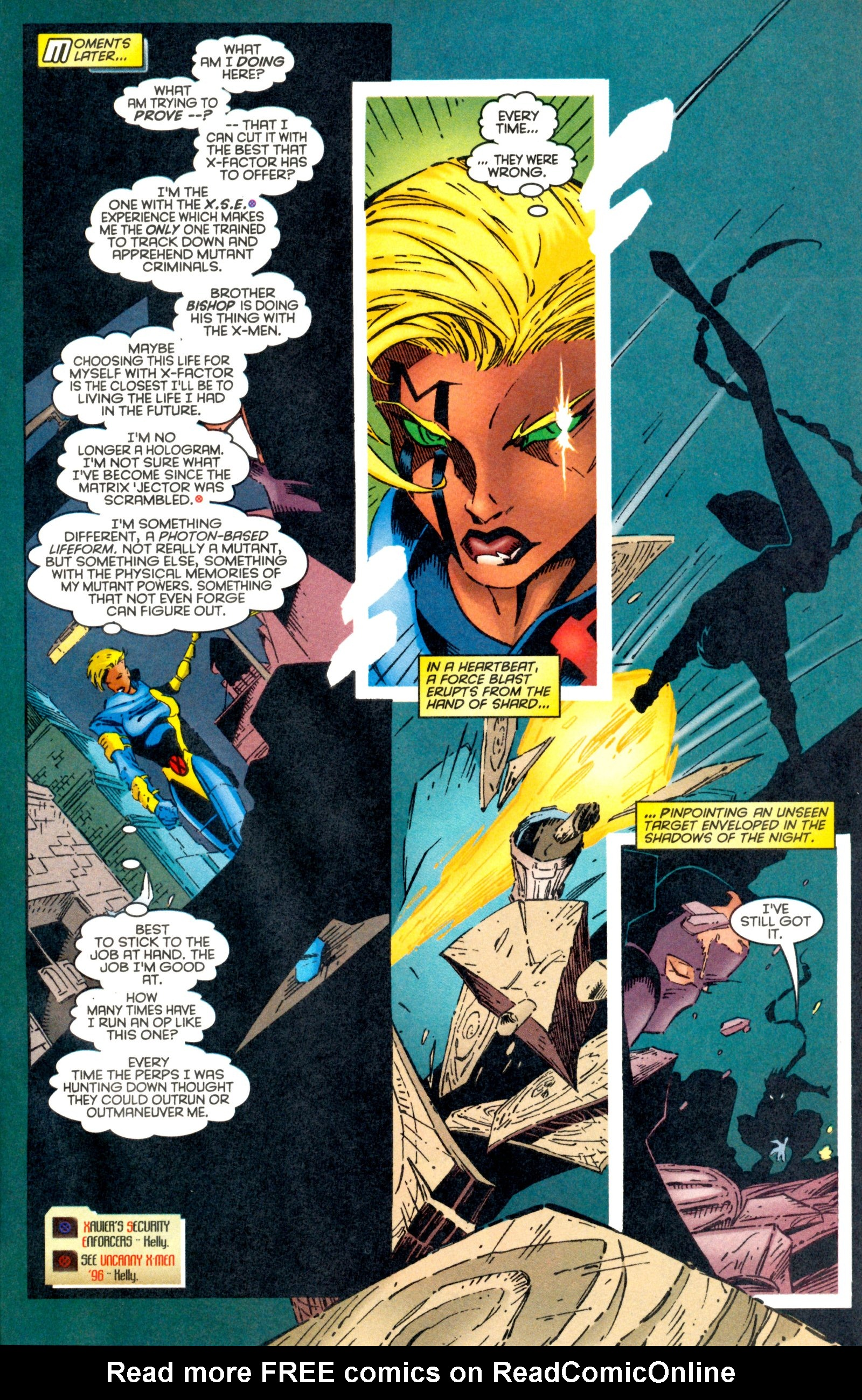 Read online X-Factor (1986) comic -  Issue #128 - 19