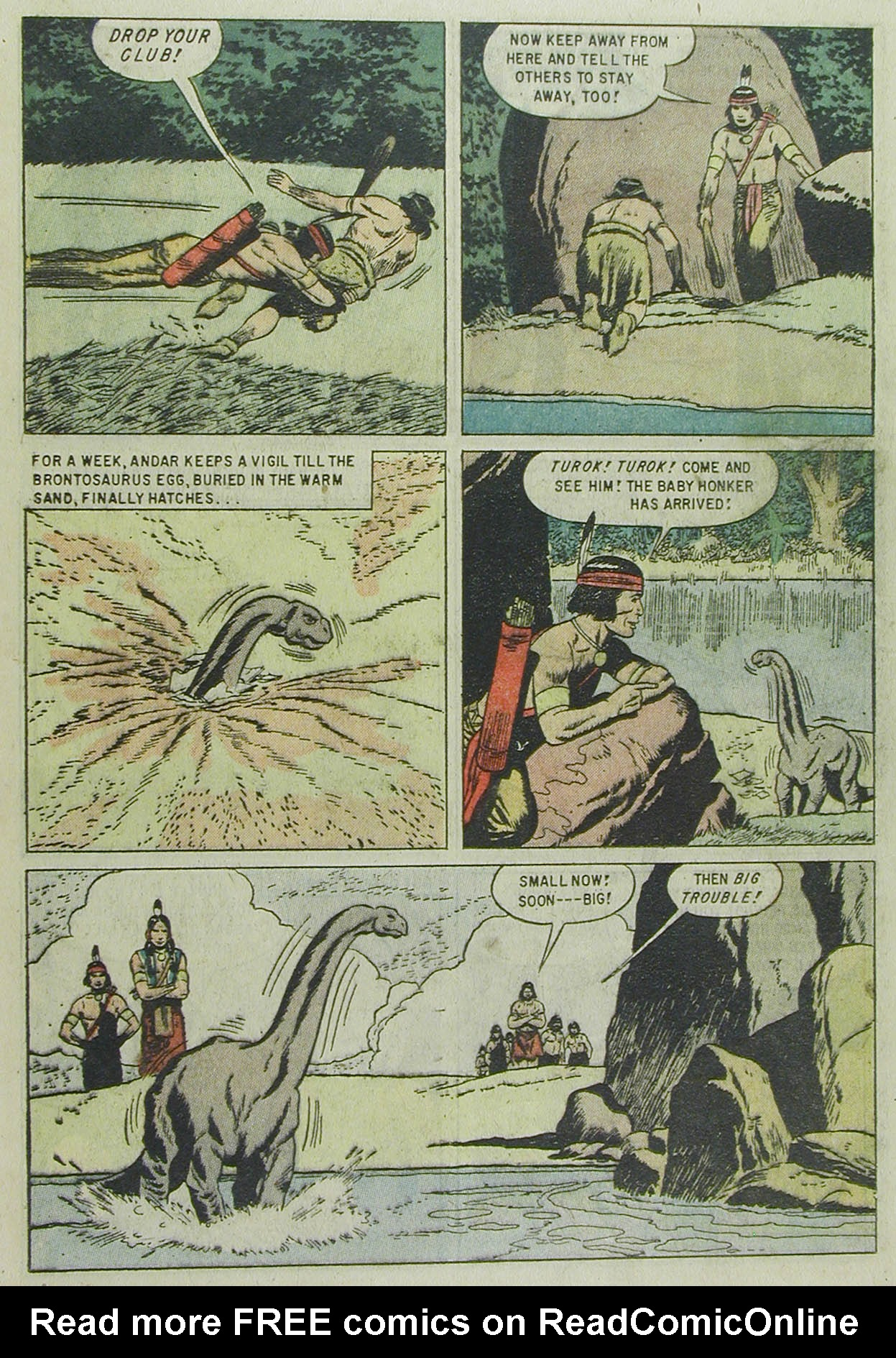 Read online Turok, Son of Stone comic -  Issue #13 - 25
