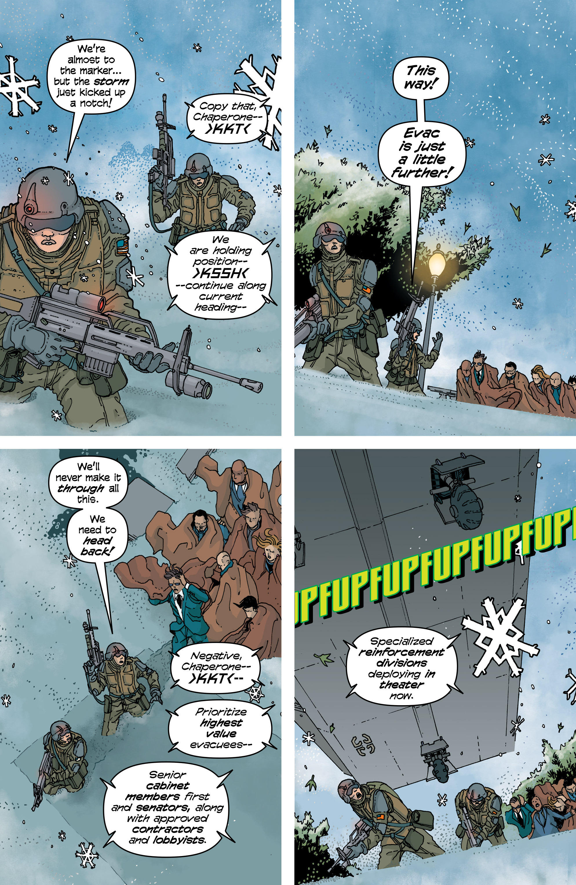 Read online Snowfall comic -  Issue #5 - 3