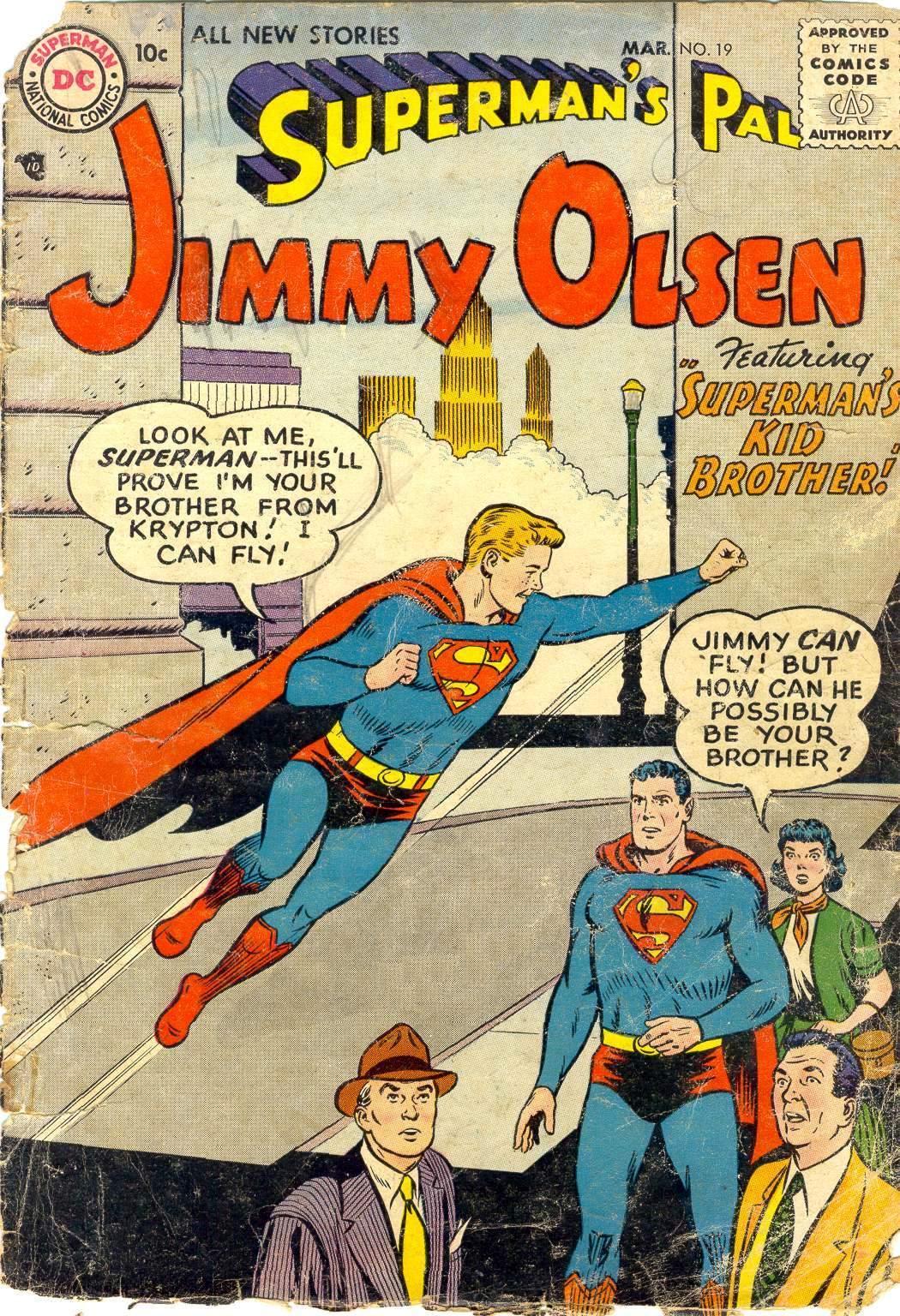 Supermans Pal Jimmy Olsen (1954) 19 Page 1