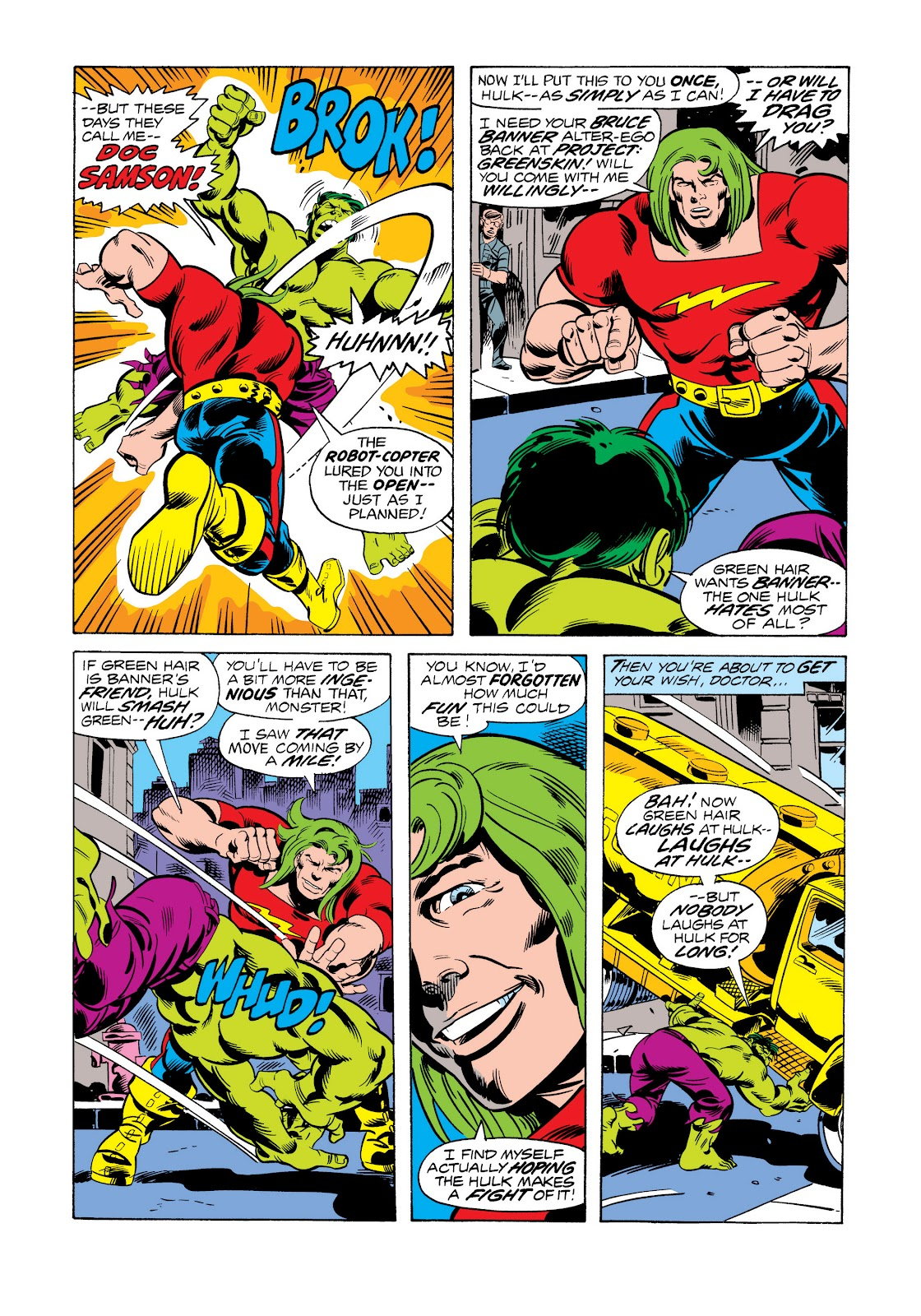 Read online Marvel Masterworks: The Incredible Hulk comic -  Issue # TPB 11 (Part 2) - 91