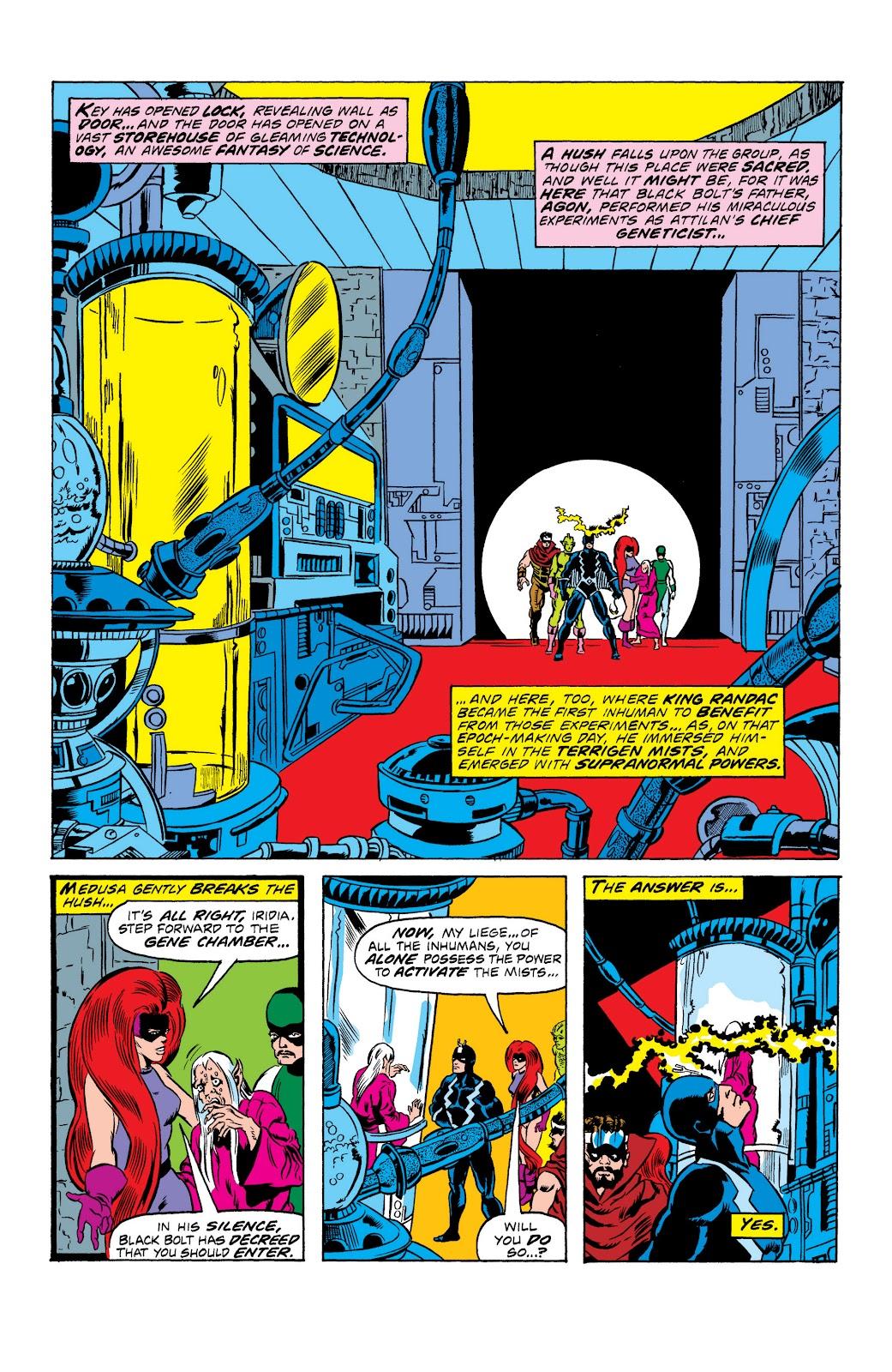Read online Marvel Masterworks: The Inhumans comic -  Issue # TPB 2 (Part 1) - 15