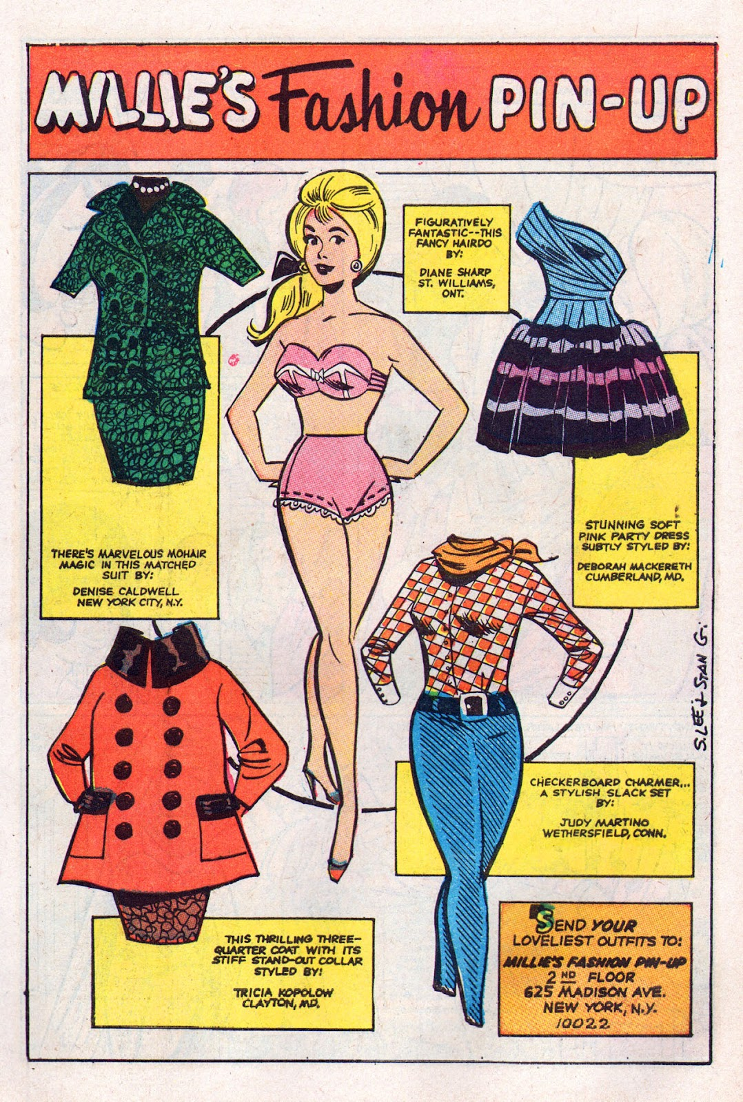 Read online Millie the Model comic -  Issue # Annual 6 - 7