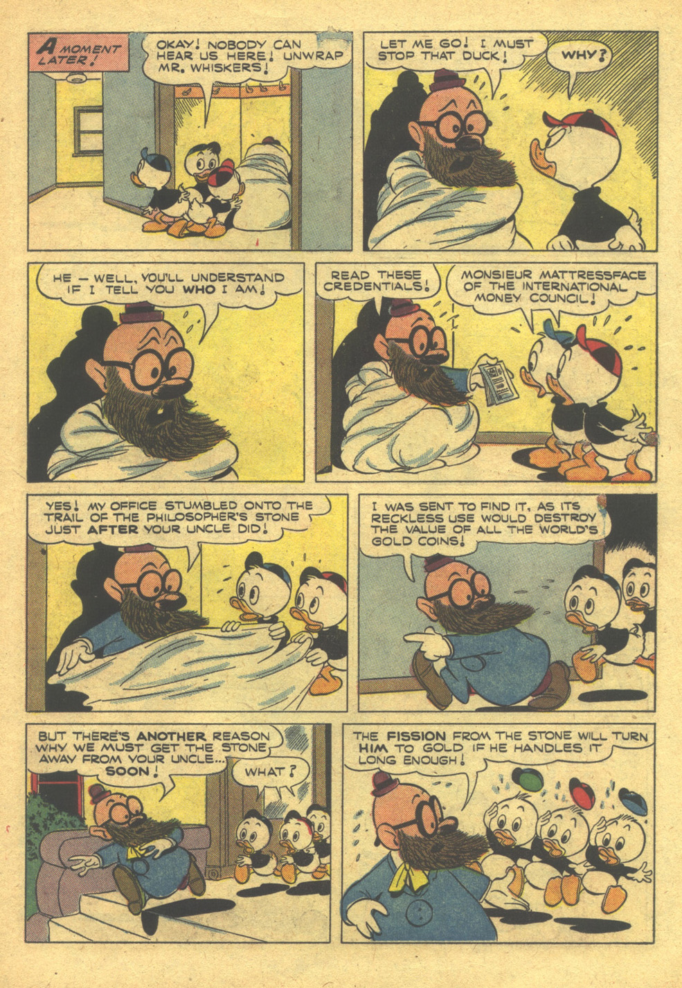 Read online Uncle Scrooge (1953) comic -  Issue #10 - 23