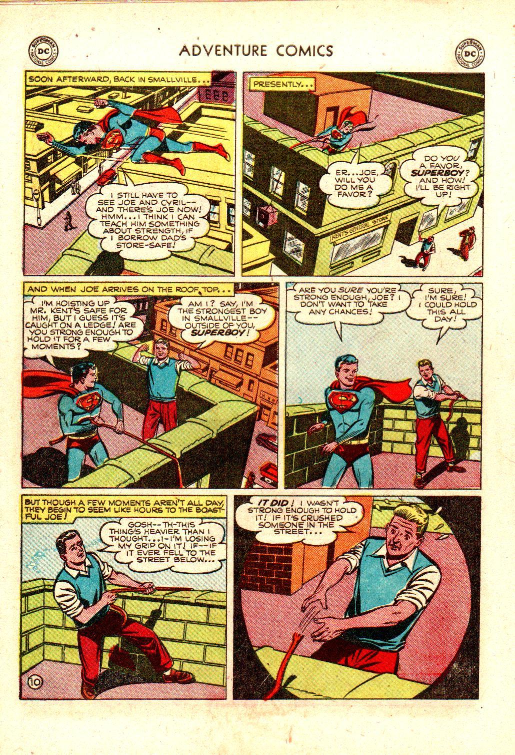 Read online Adventure Comics (1938) comic -  Issue #173 - 12