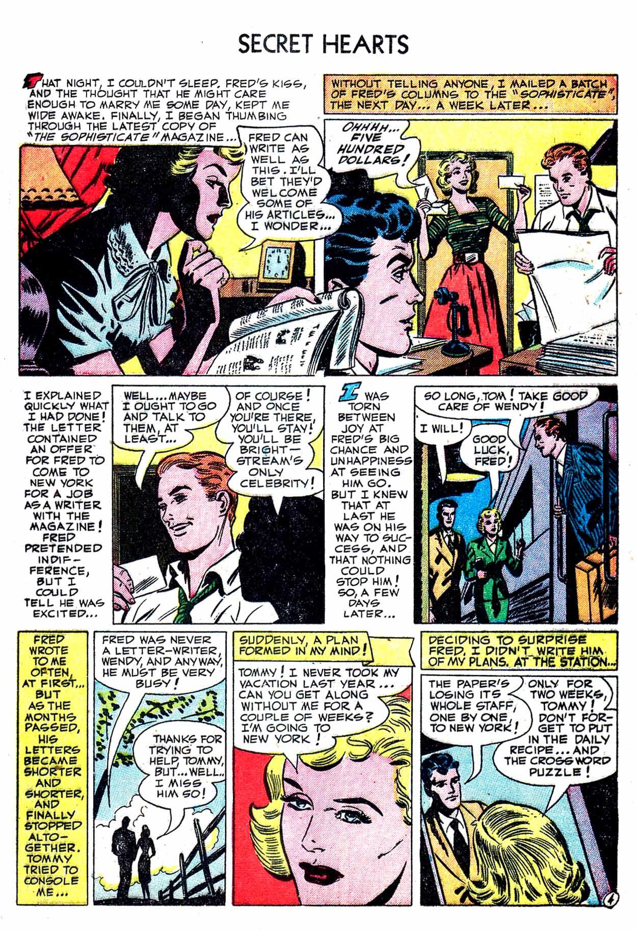 Read online Secret Hearts comic -  Issue #8 - 21